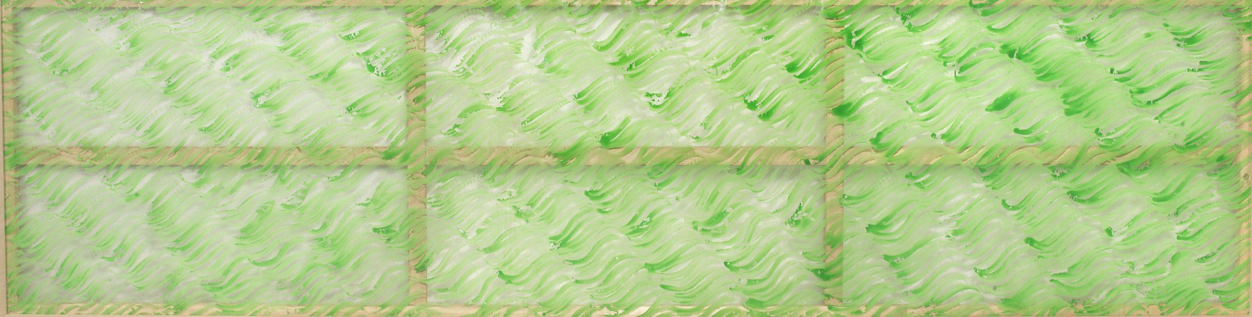 Accardi, Senza titolo, 1967, 100x380 cm