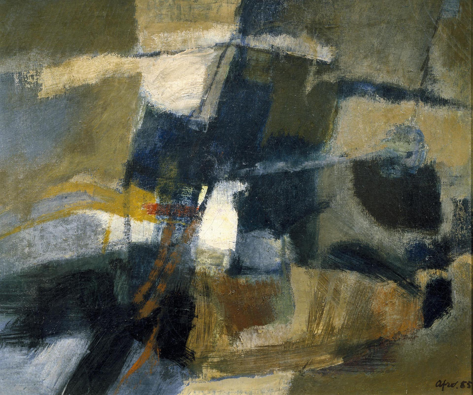 Afro, Senza titolo, 1955, 50x60 cm