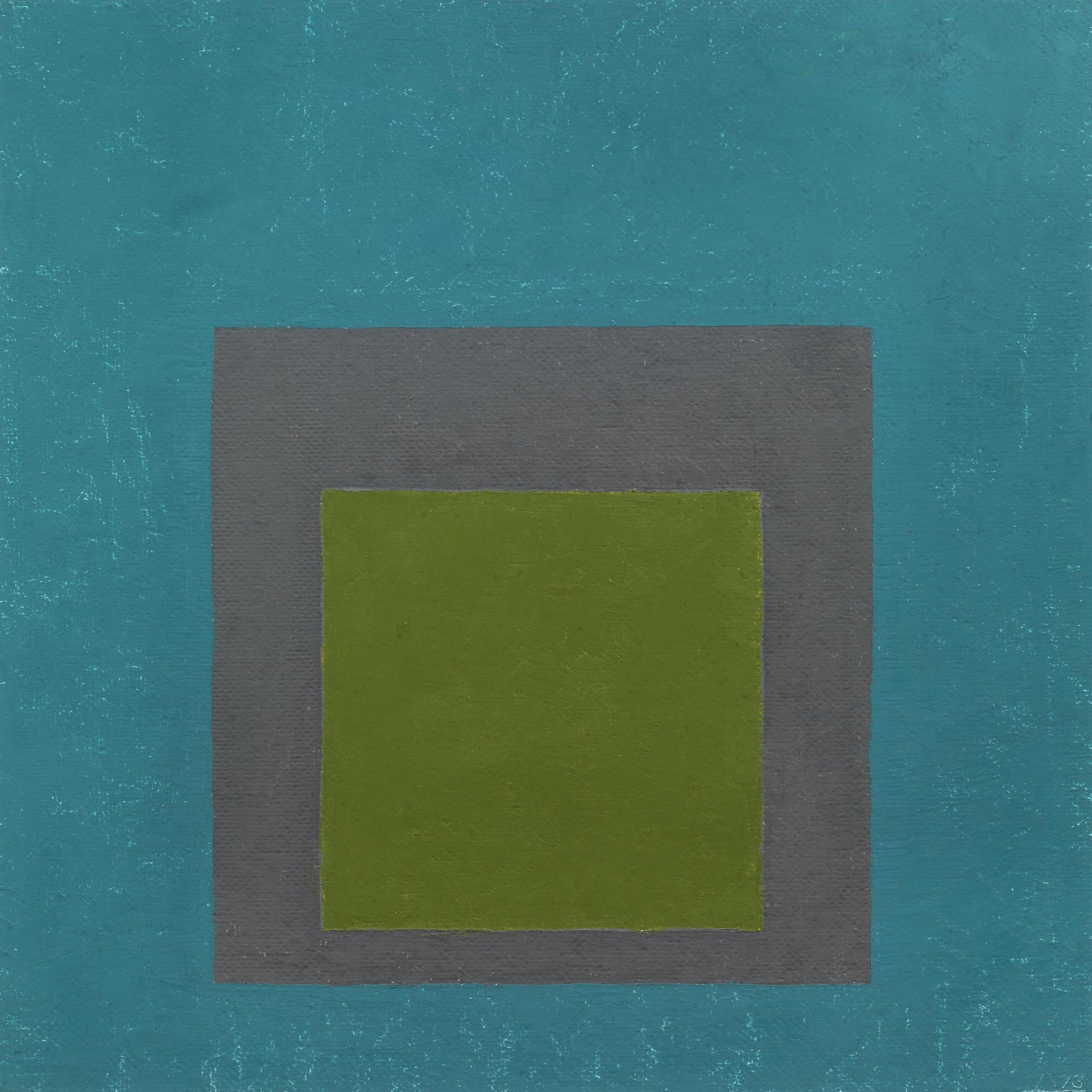 Albers, Study for Homage to the Square, 1973, 40x40 cm