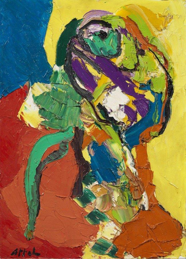 Appel, Personnage, 1971, 65x46 cm