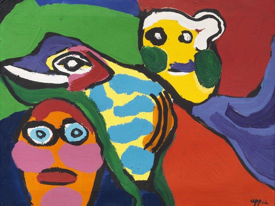 Appel, Untitled, 1975-76, 50x65 cm