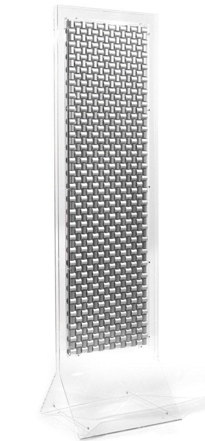 Biasi, Accumulo...trama e ordito, 1988, 196x54x47 cm