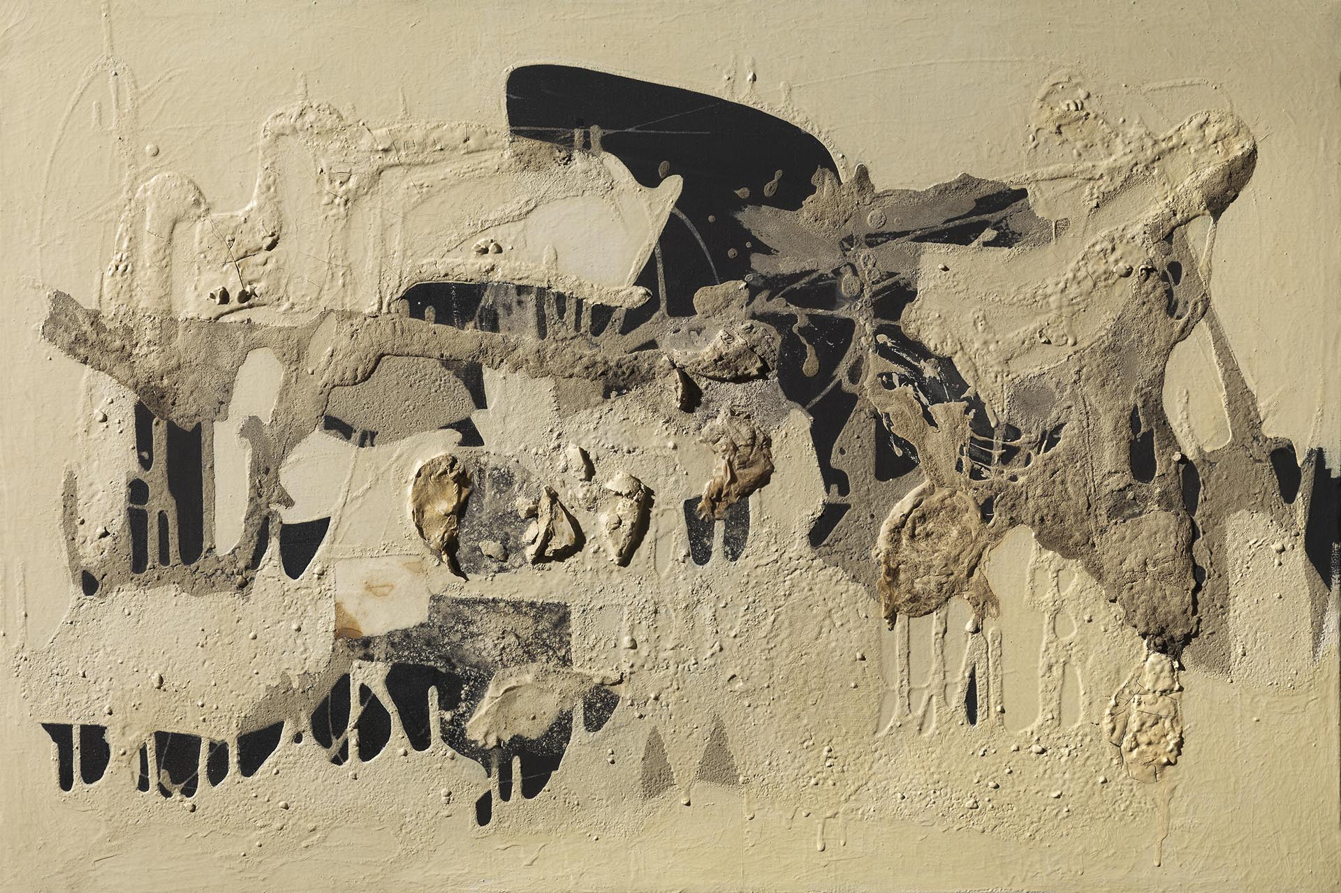 Burri, Muffa, 1951, 54x81 cm
