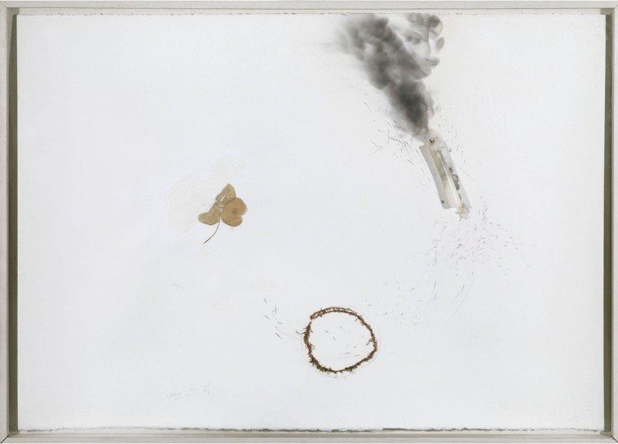 Calzolari, Senza titolo, 1969, 70x99 cm