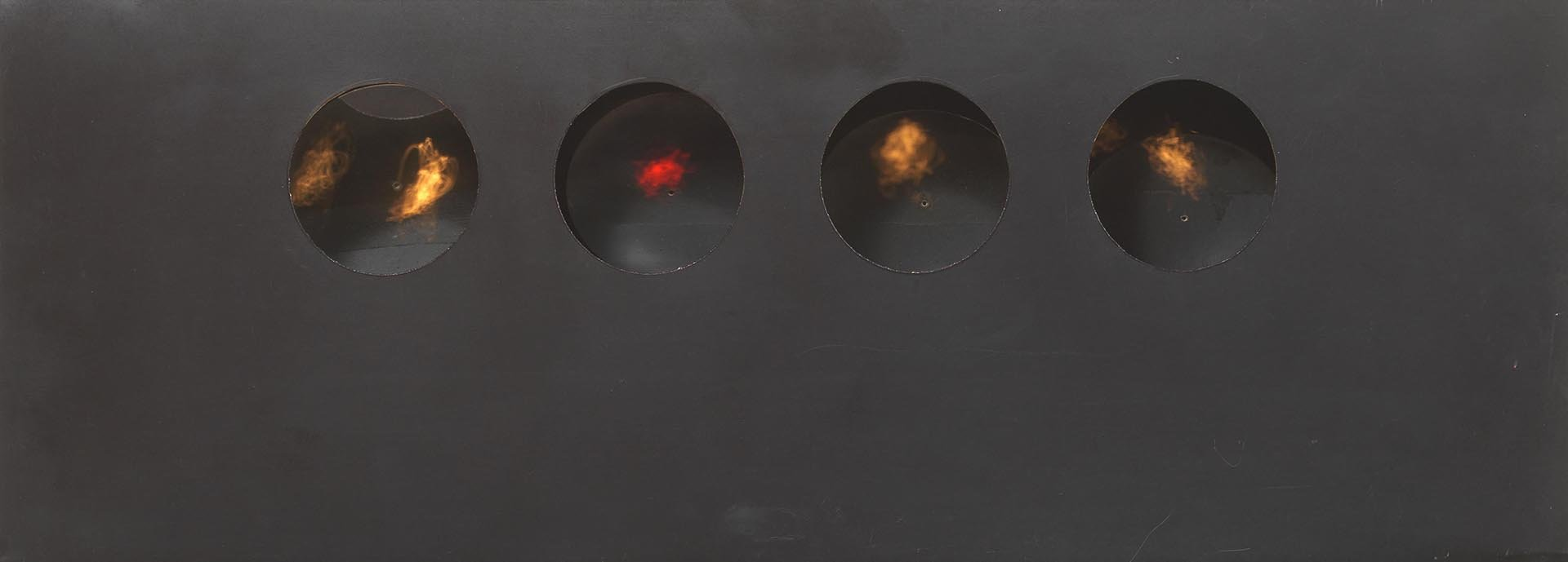 Colombo, Sismostrutture, 1962, 185x50x145 cm