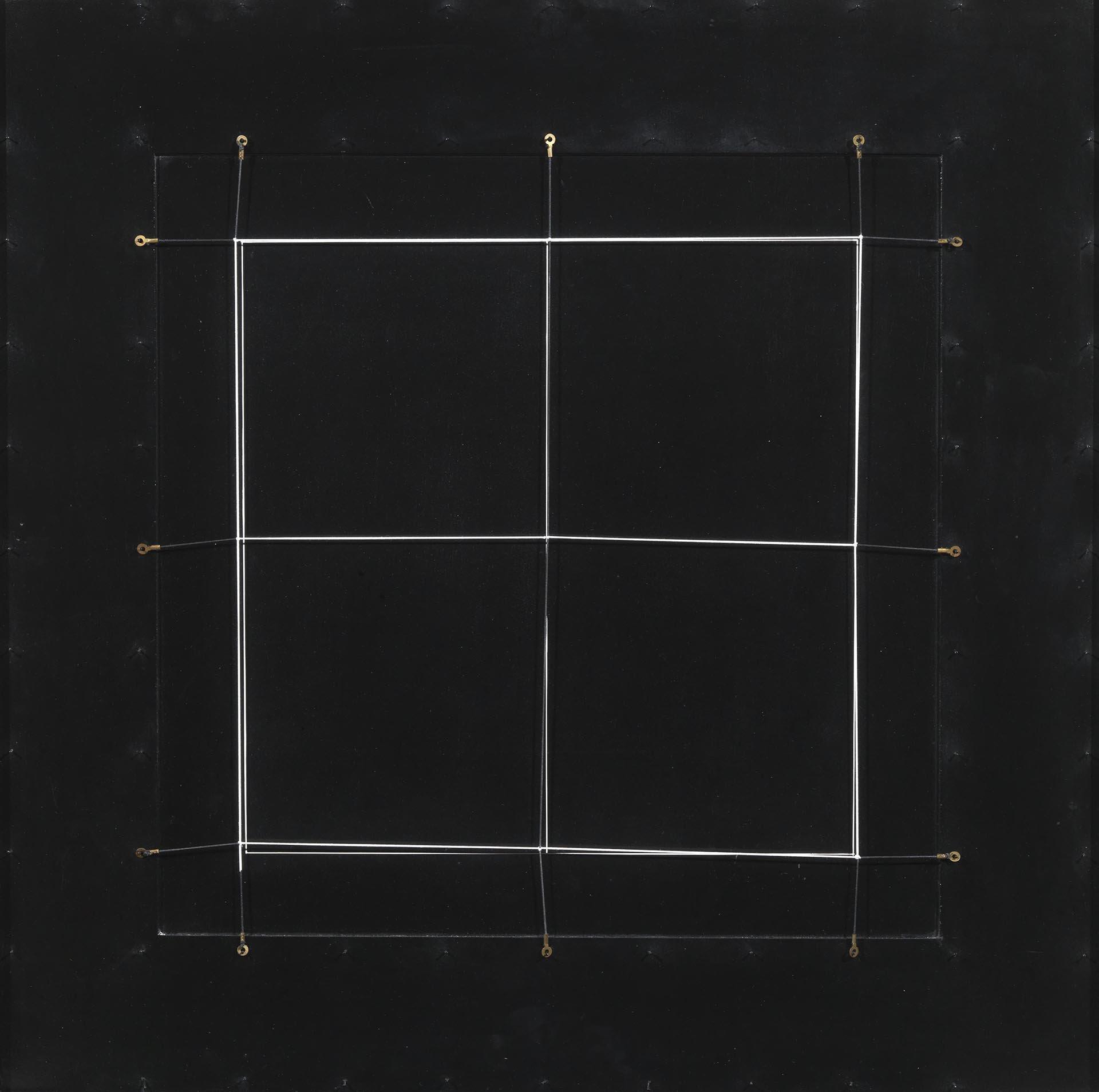 Colombo, Spazio elastico, 1975-76, 72x72 cm