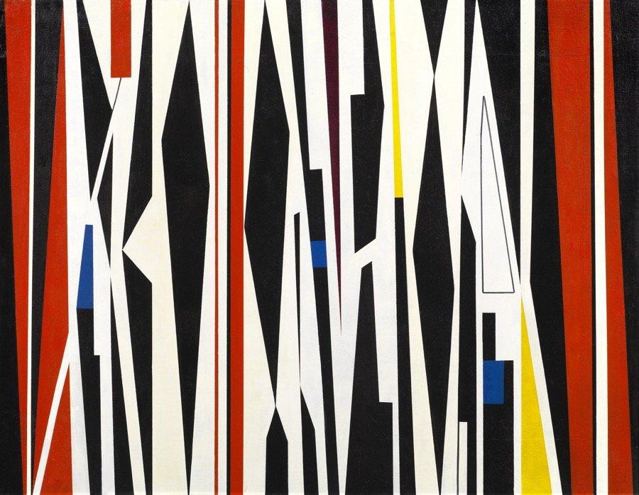 Crippa, Geometrico, 1951, 73x93,5 cm