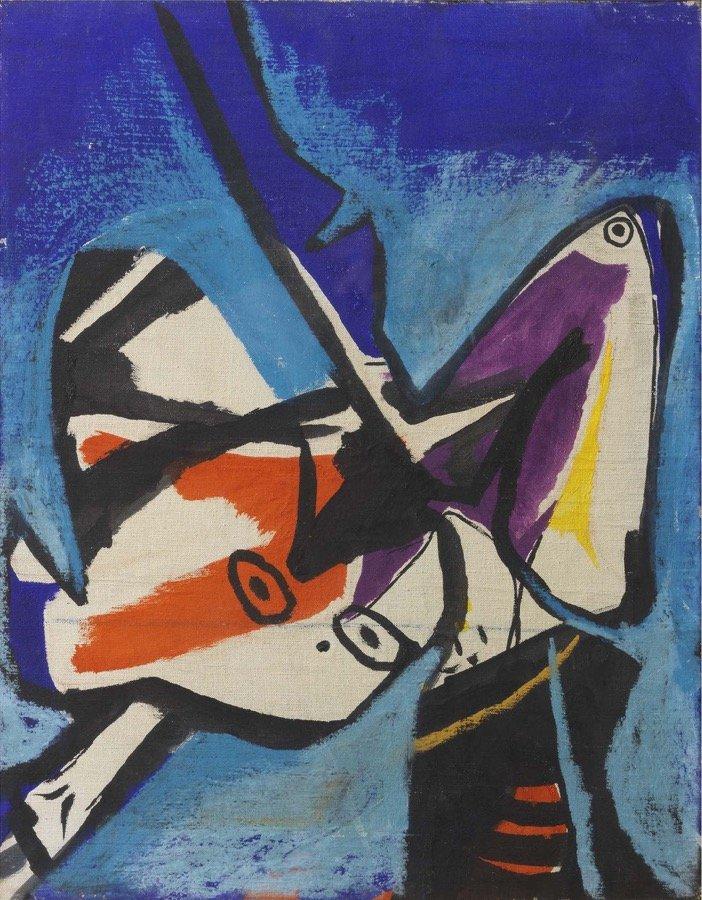 Crippa, Senza titolo, 1947, 50x40 cm