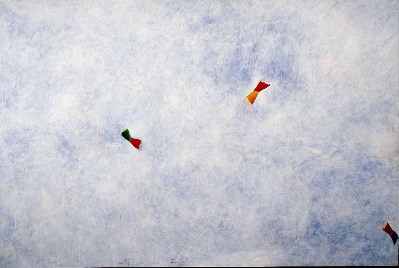 De Maria, Nell'occhio del bambino, 1981, 200x300 cm