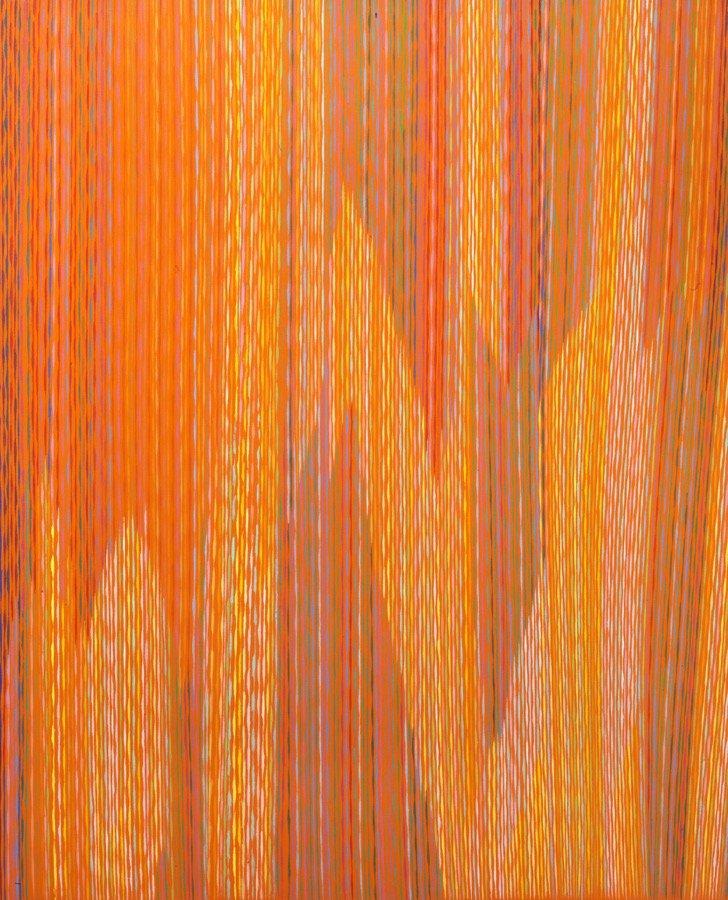 Dorazio, Novacolor II°, 1983, 160x130 cm