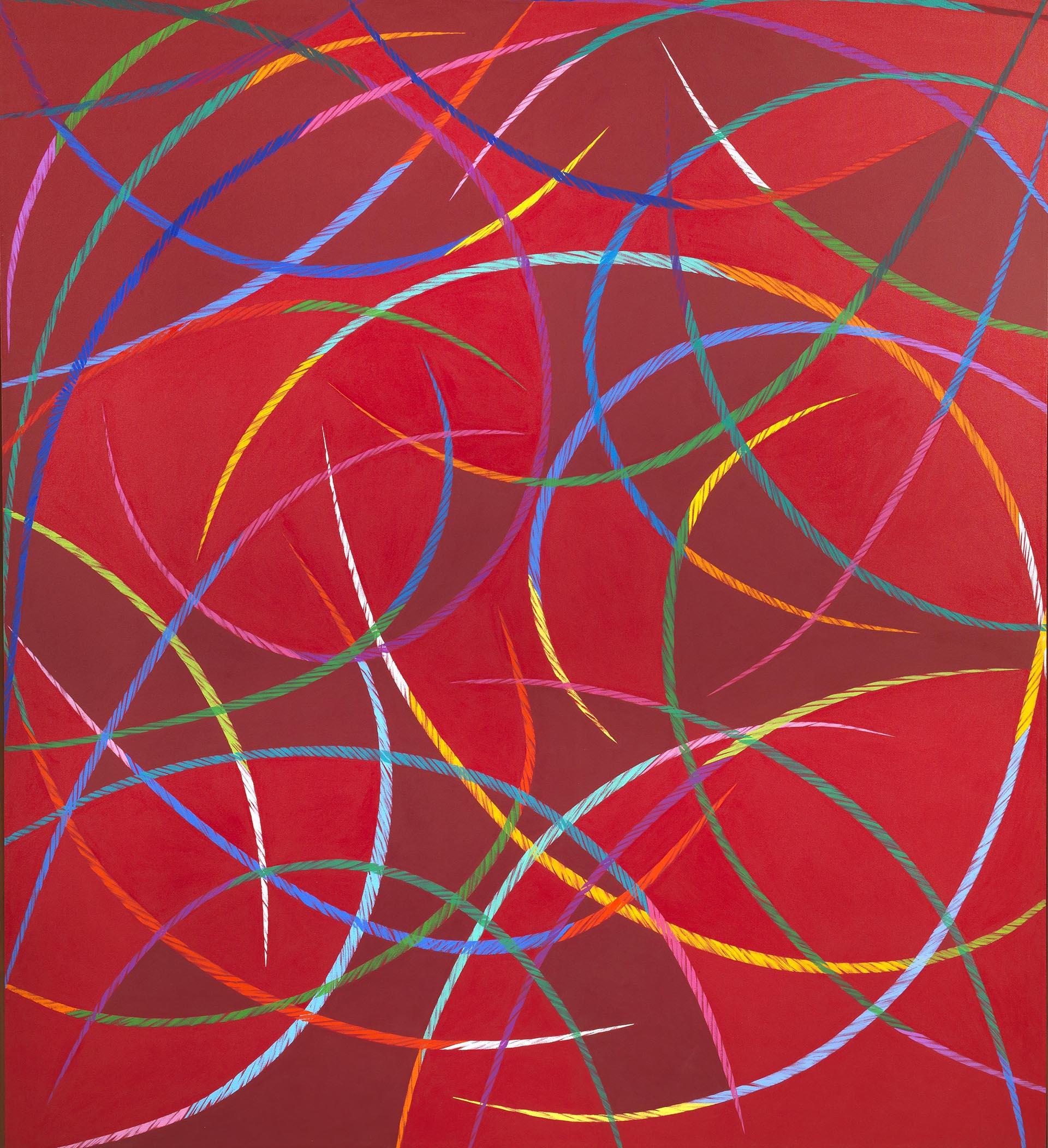 Dorazio, Rajas, 1991, 200x180.5 cm