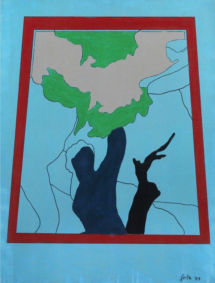 Festa, Dal peccato originale. Eva, 1968, 116x89 cm