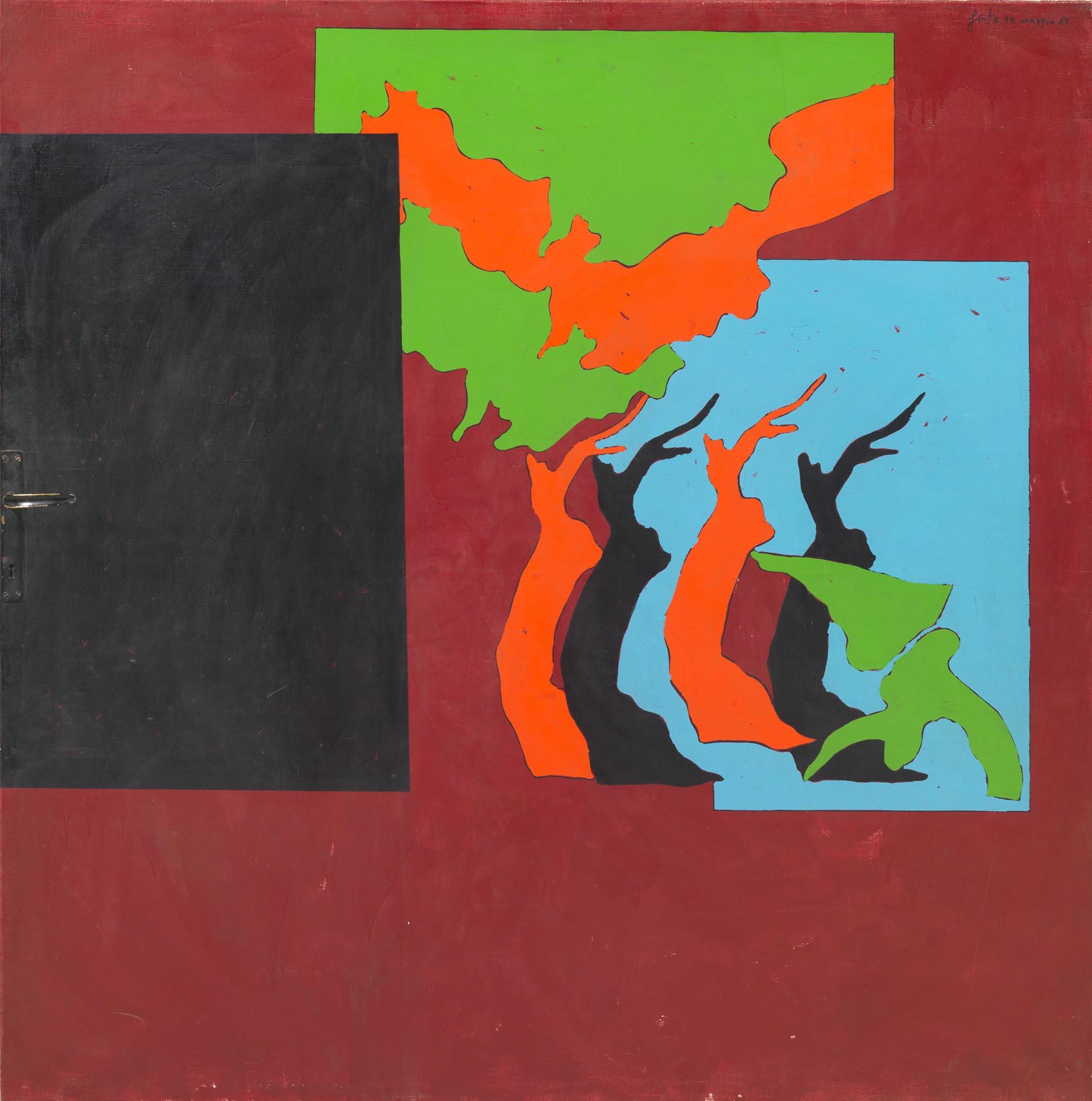 Festa_Paesaggio-scarlatto-con-la-maniglia_1969_150x150-cm