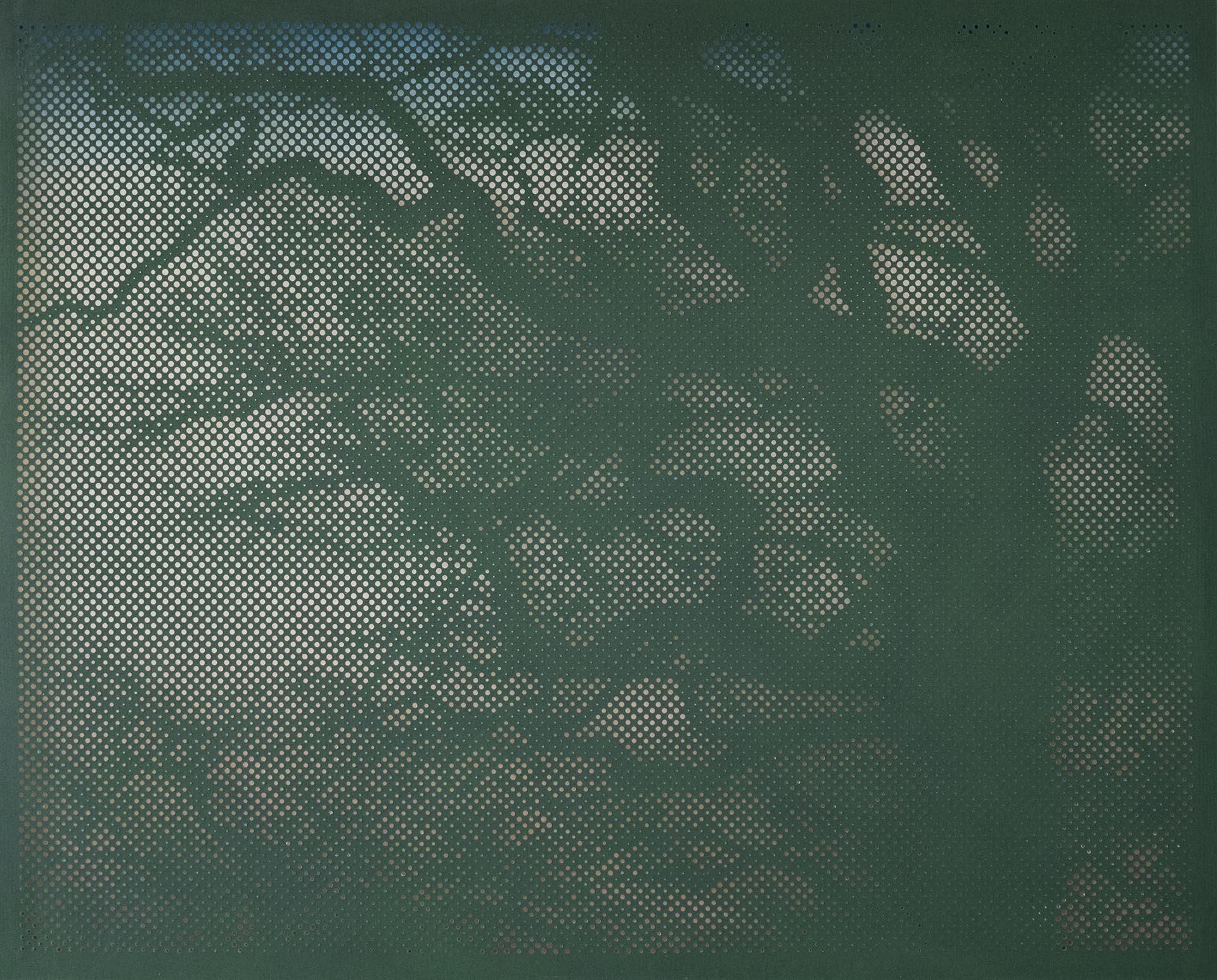 Furunes, Illuminated moments IX, 2016, 160x200 cm