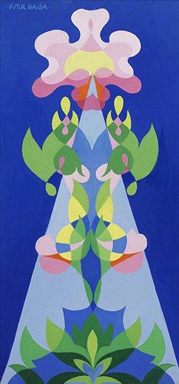 Giacomo Balla, Balfiore, 1925 ca, 66,5x31,5 cm