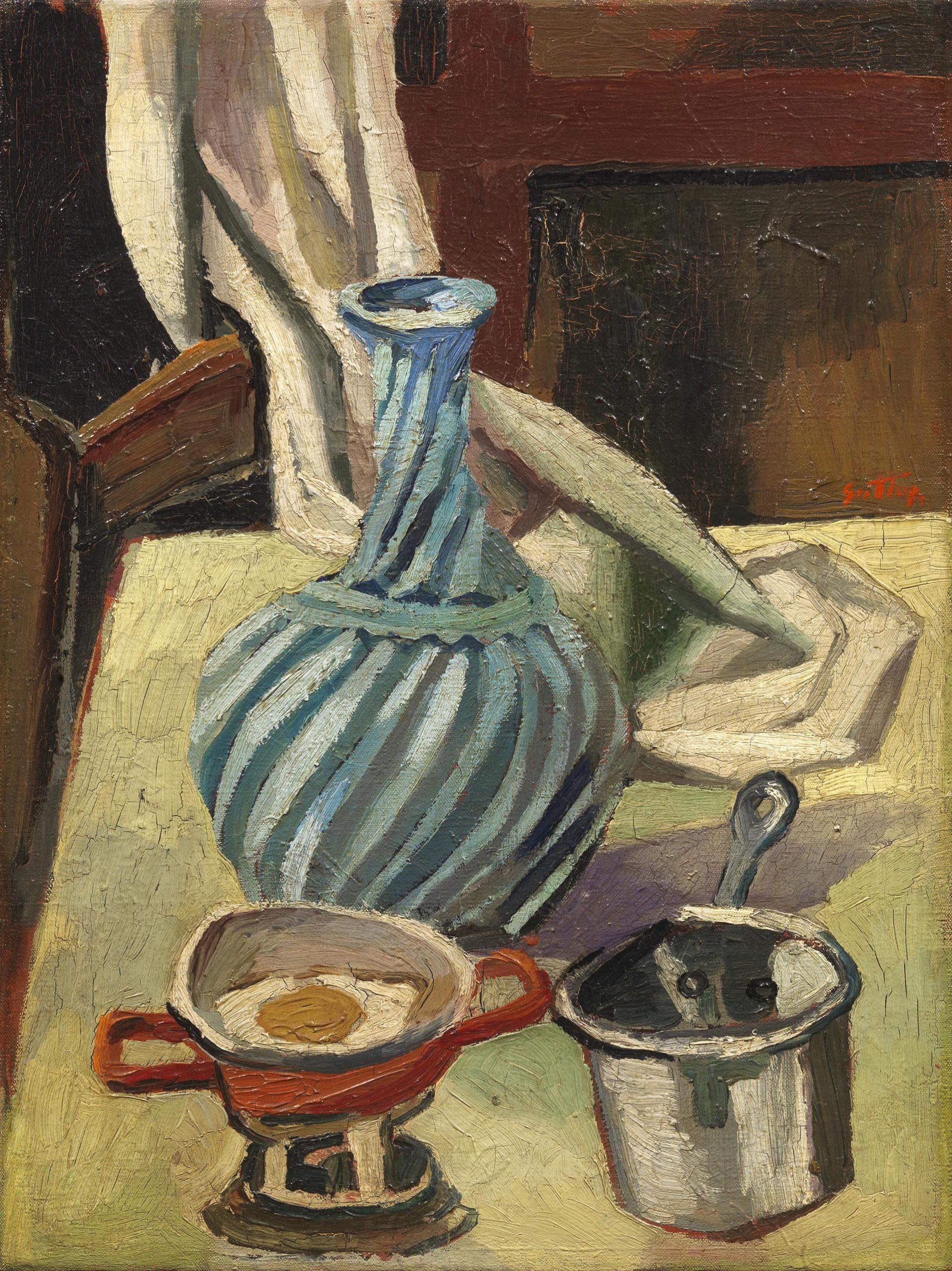 Guttuso, Natura morta, 1940-41, 55x40 cm