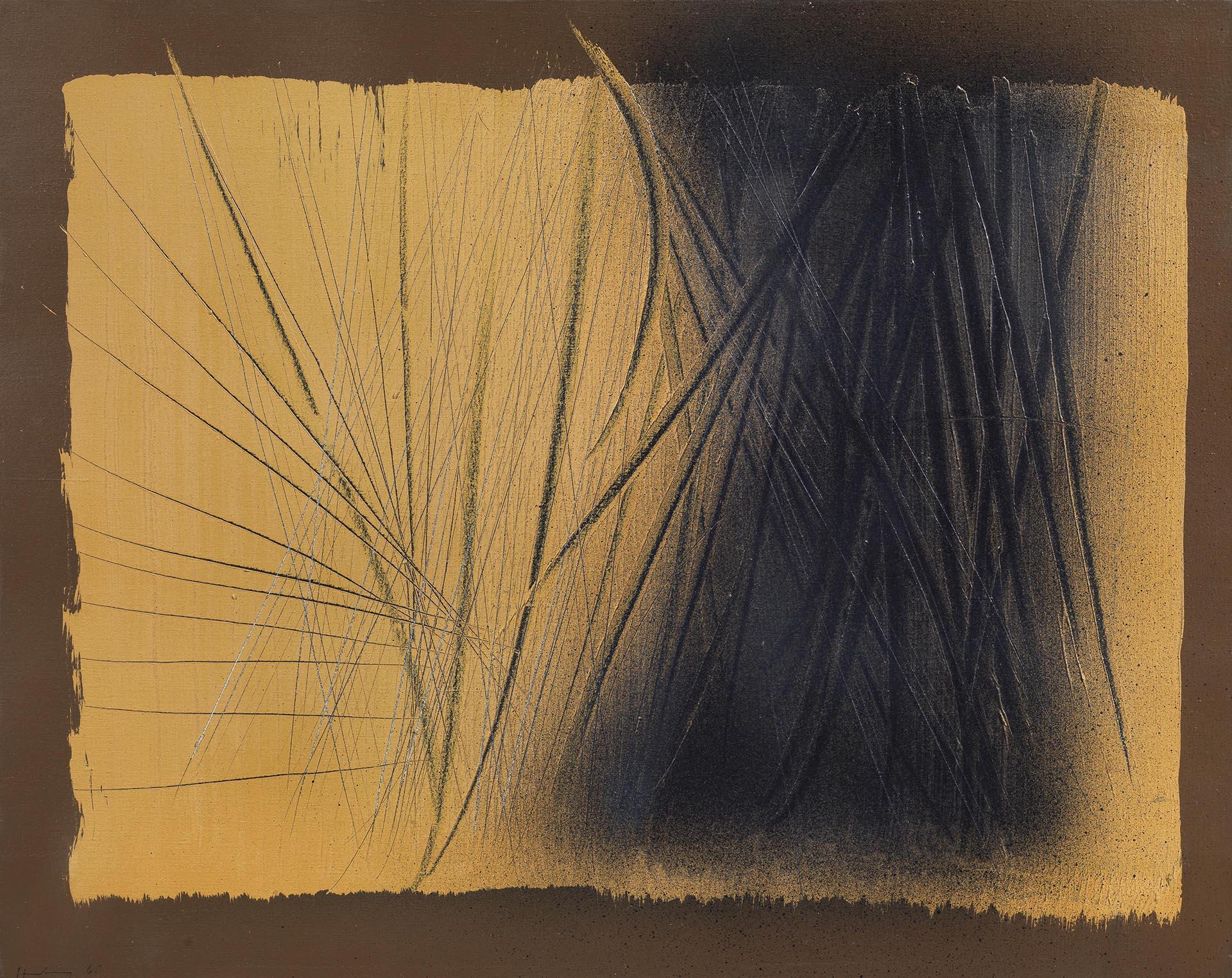 Hartung, T 1965 - H 43, 1965, 65.5x81 cm