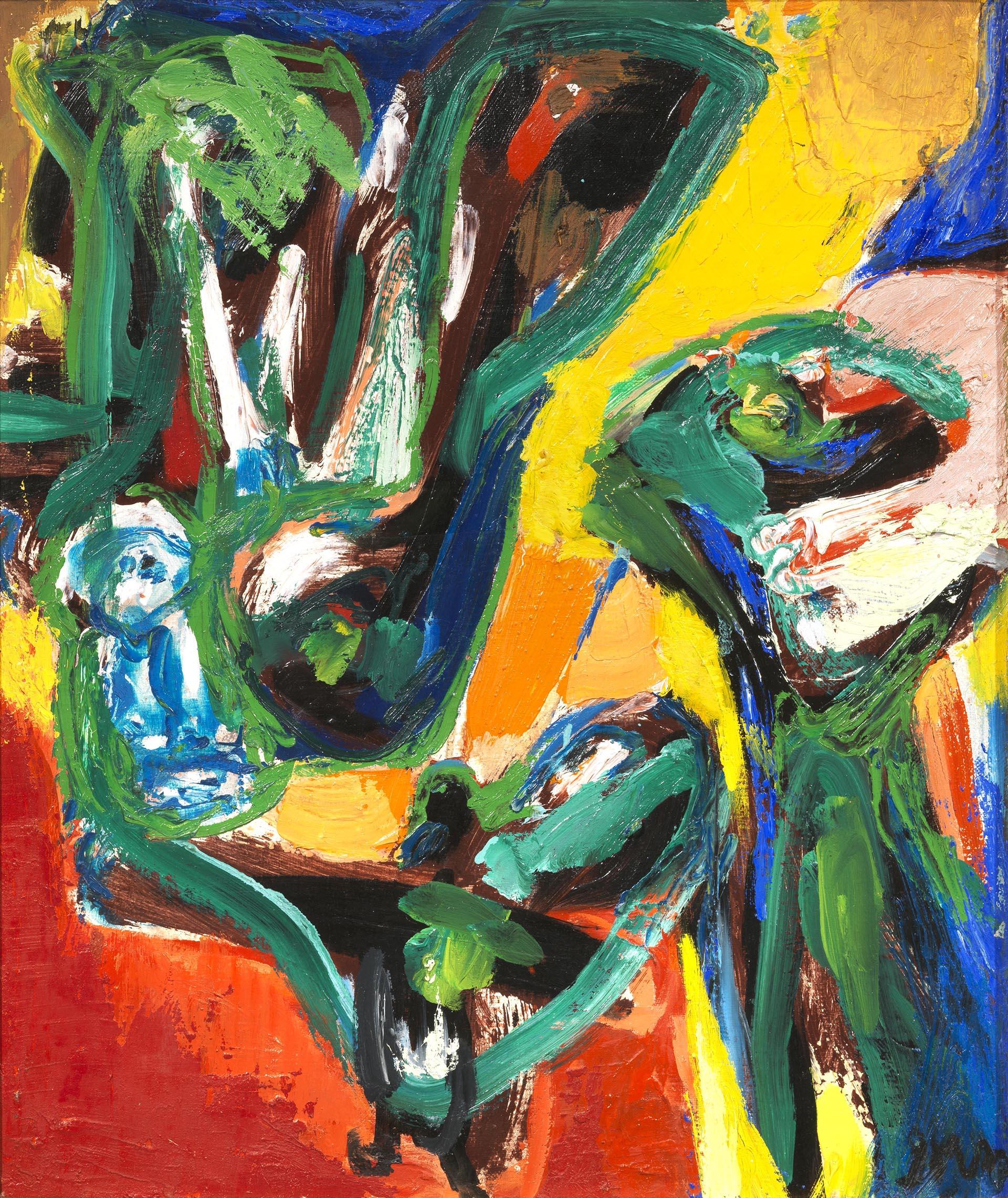 Jorn, Houm Souk, 1970-72, 55x46 cm