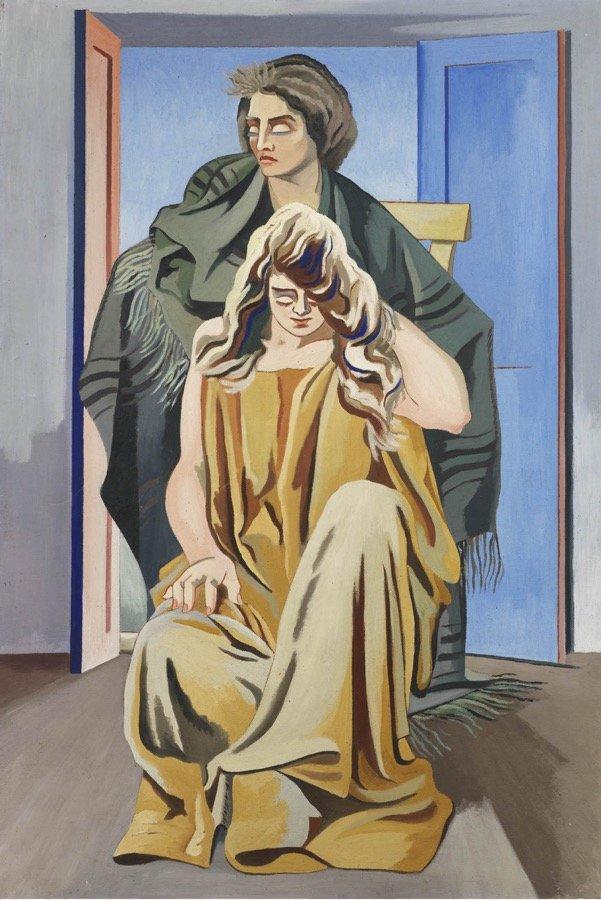 Magnelli, Deux femmes, 1924-1928, 141x93 cm