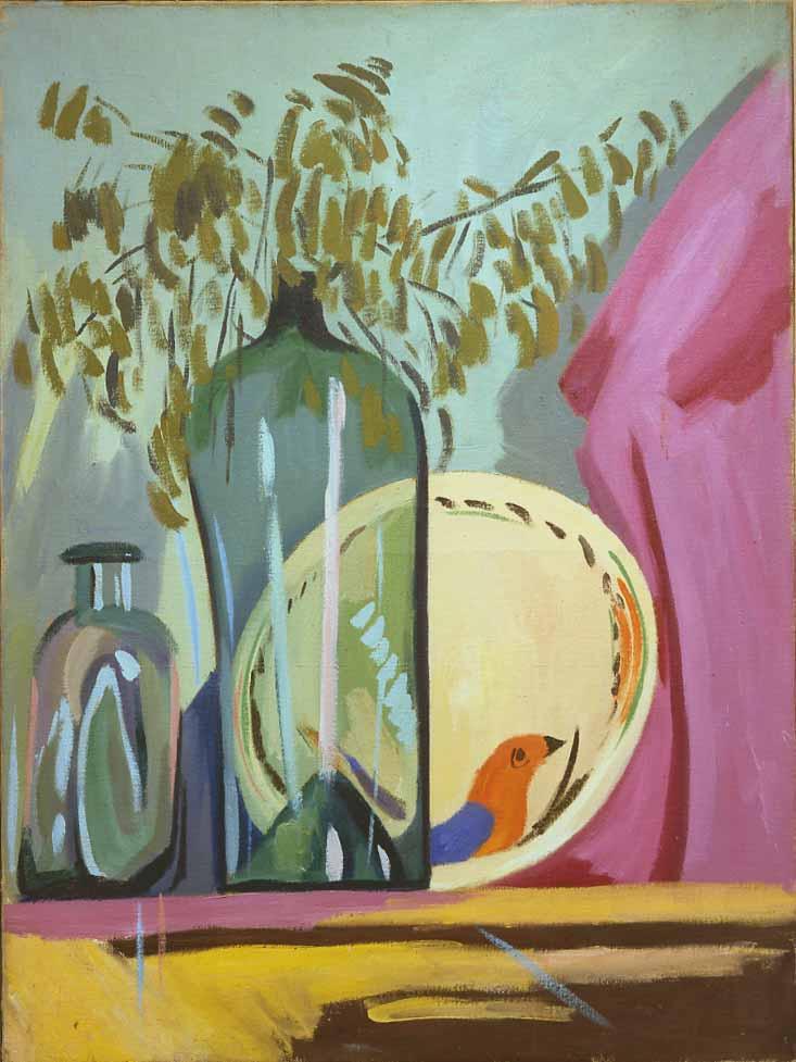 Magnelli, Nature morte, 1919-1920, 100x75 cm