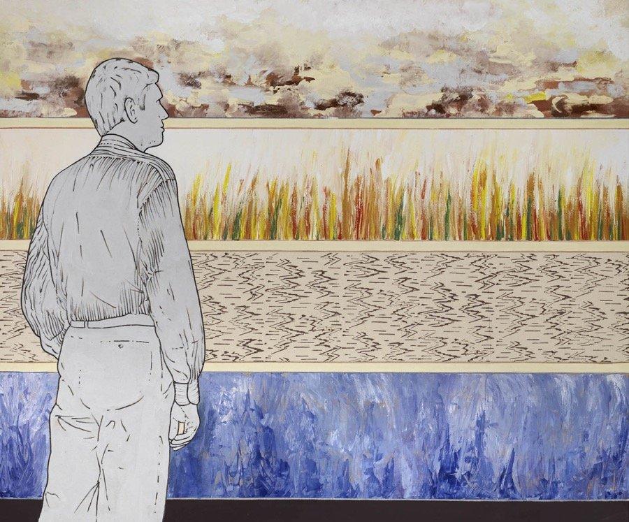Mambor, Osservatore e stagioni, 2012, 100x120 cm