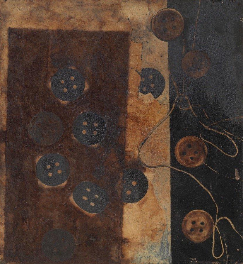 Manzoni, Bottoni, 1956-57, 42x37 cm
