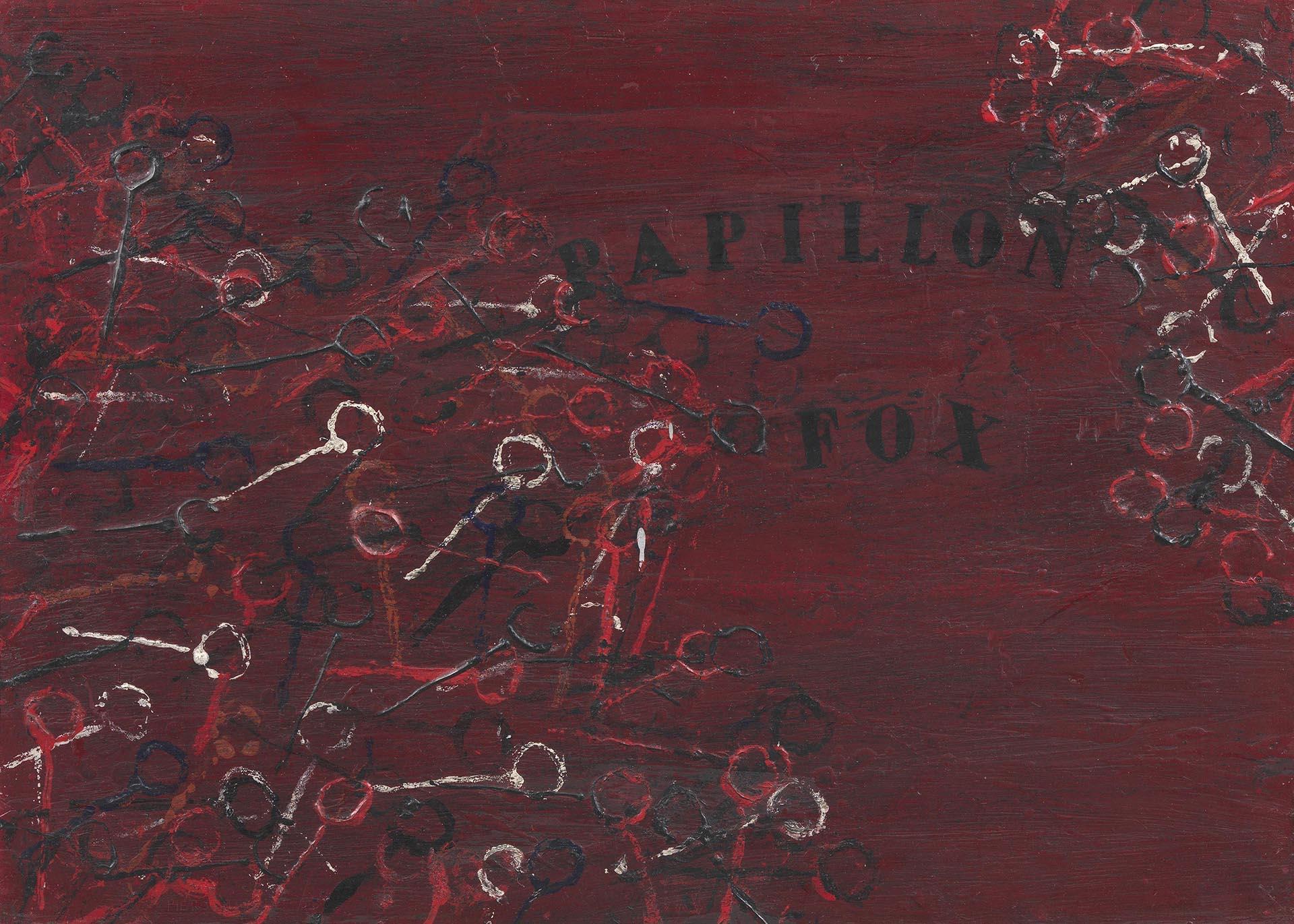 Manzoni_Papillon-fox_1956_50X70-cm