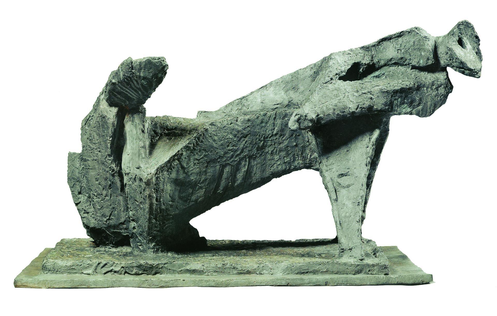 Marini, Guerriero, 1956-57, 70x110x66 cm