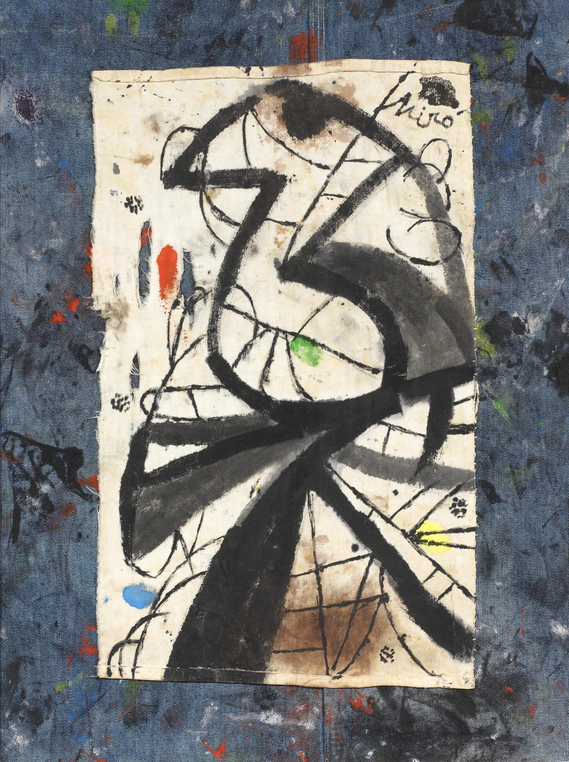 Mirò, Painting, 1981, 58x53 cm