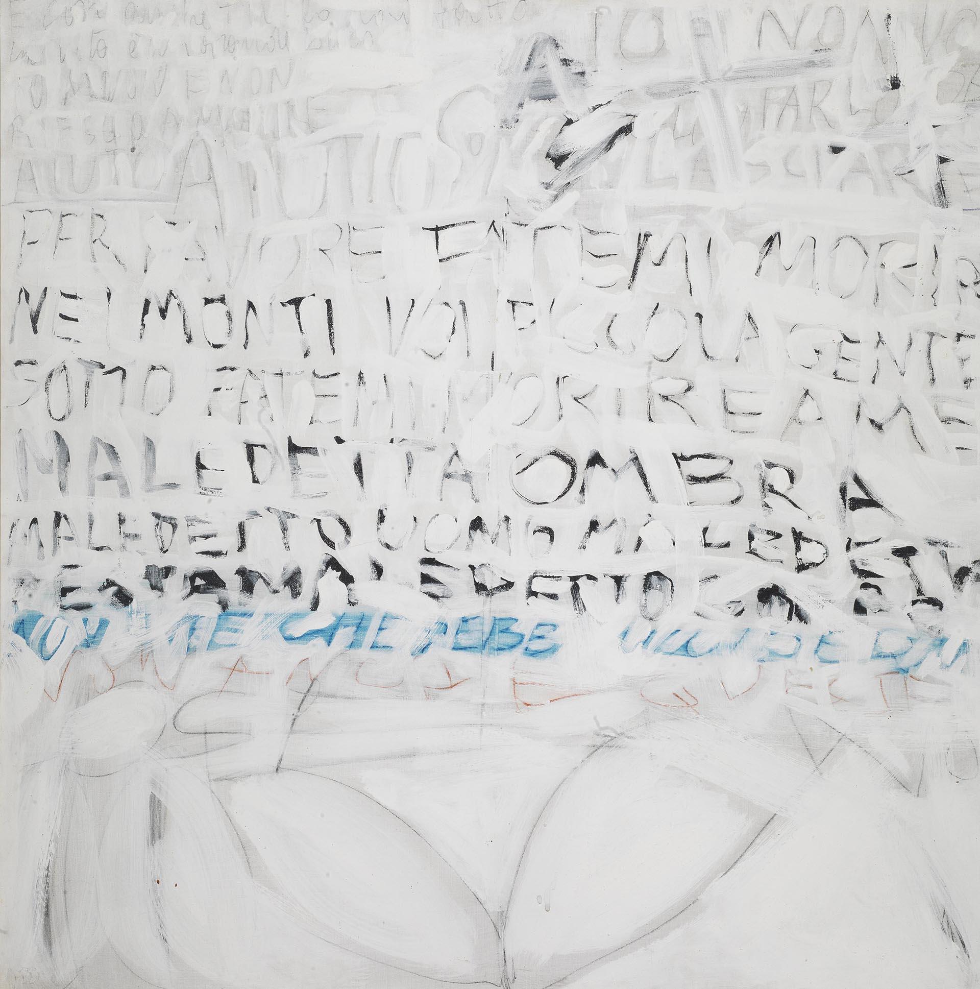 Novelli, El vino tinto, 1962, 100x100 cm