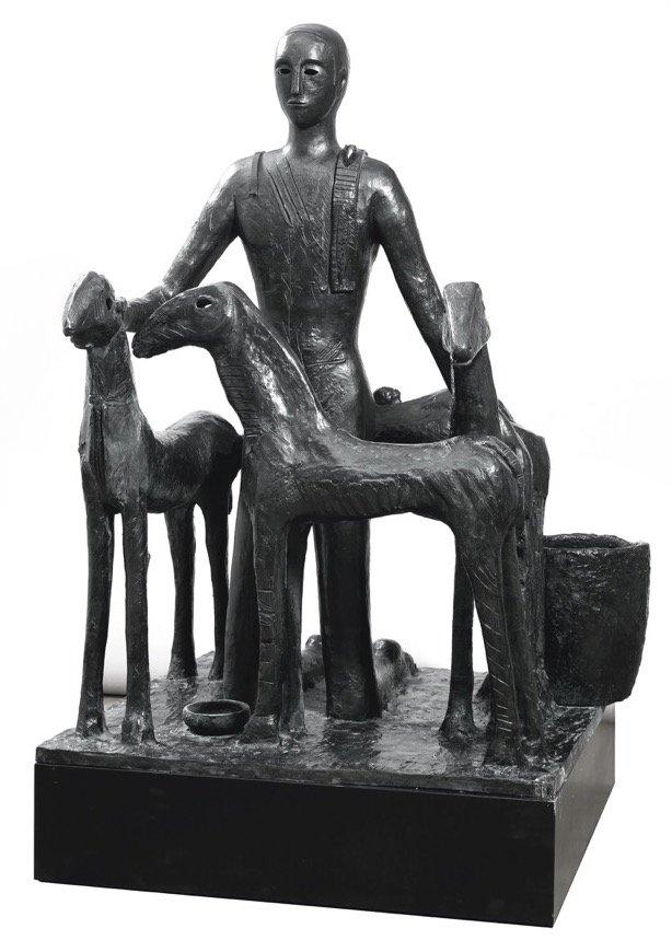 Paladino, Assediato, 1993, 156x116x137 cm