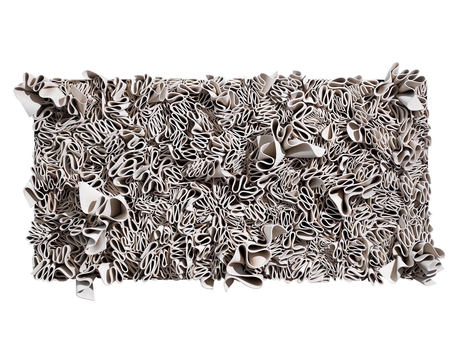 Pasquali, Frappa bianca, 2013, 80x160x22 cm