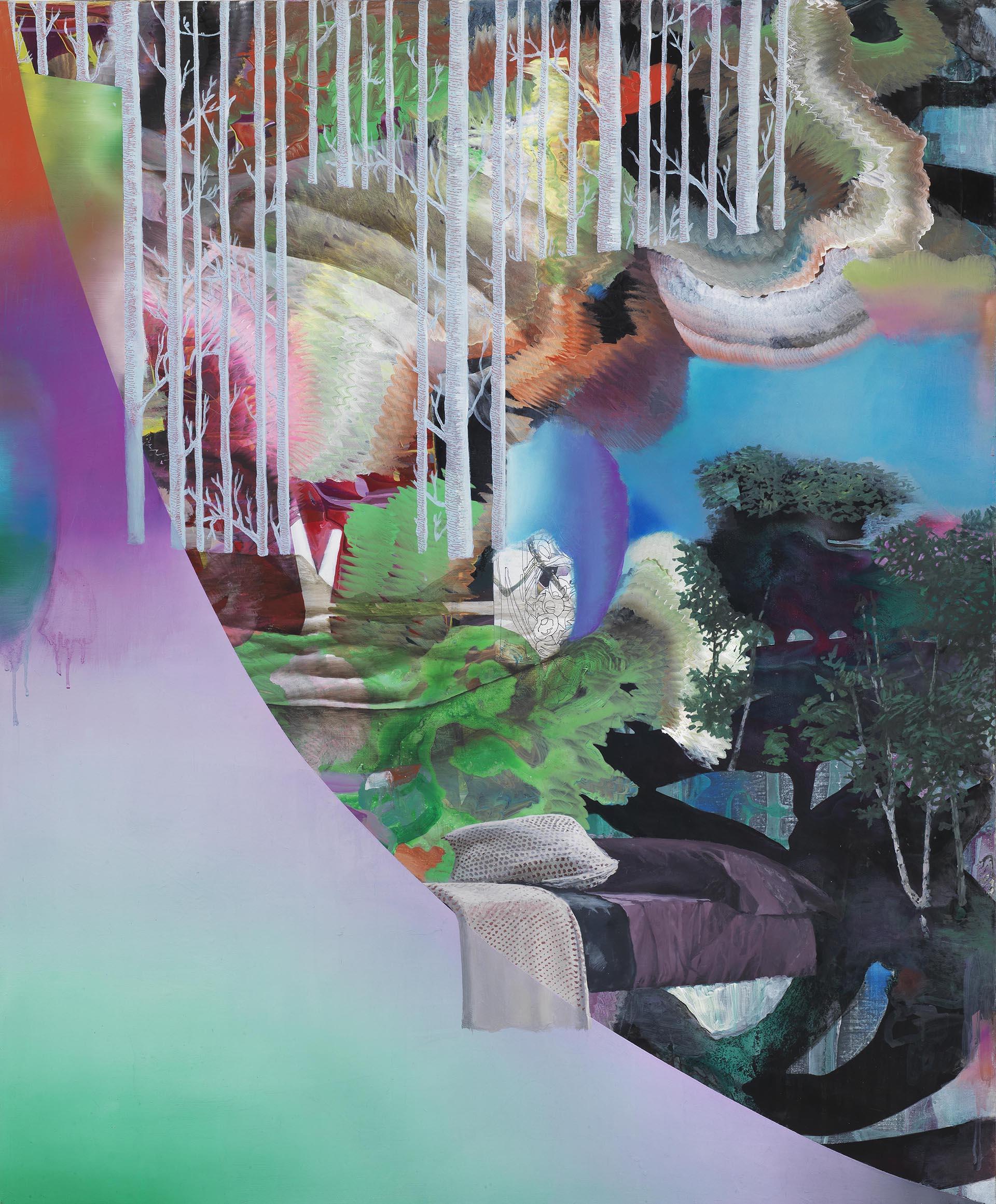 Pontrelli, Senza titolo, 2017, 110x90 cm