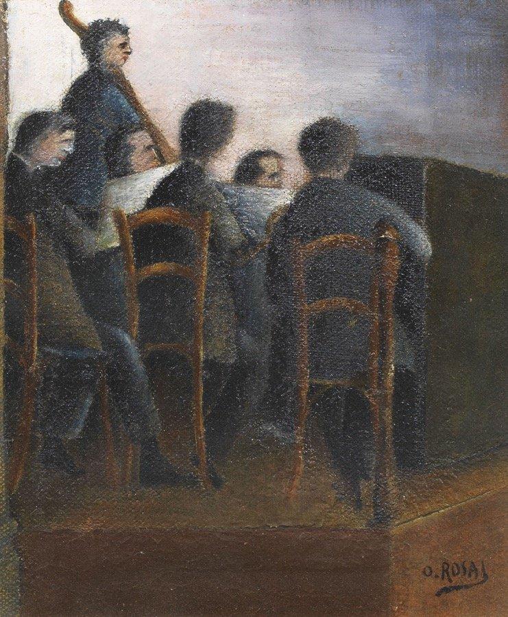 Rosai, Concertino (Orchestrina), 1920-1921, 32x27 cm