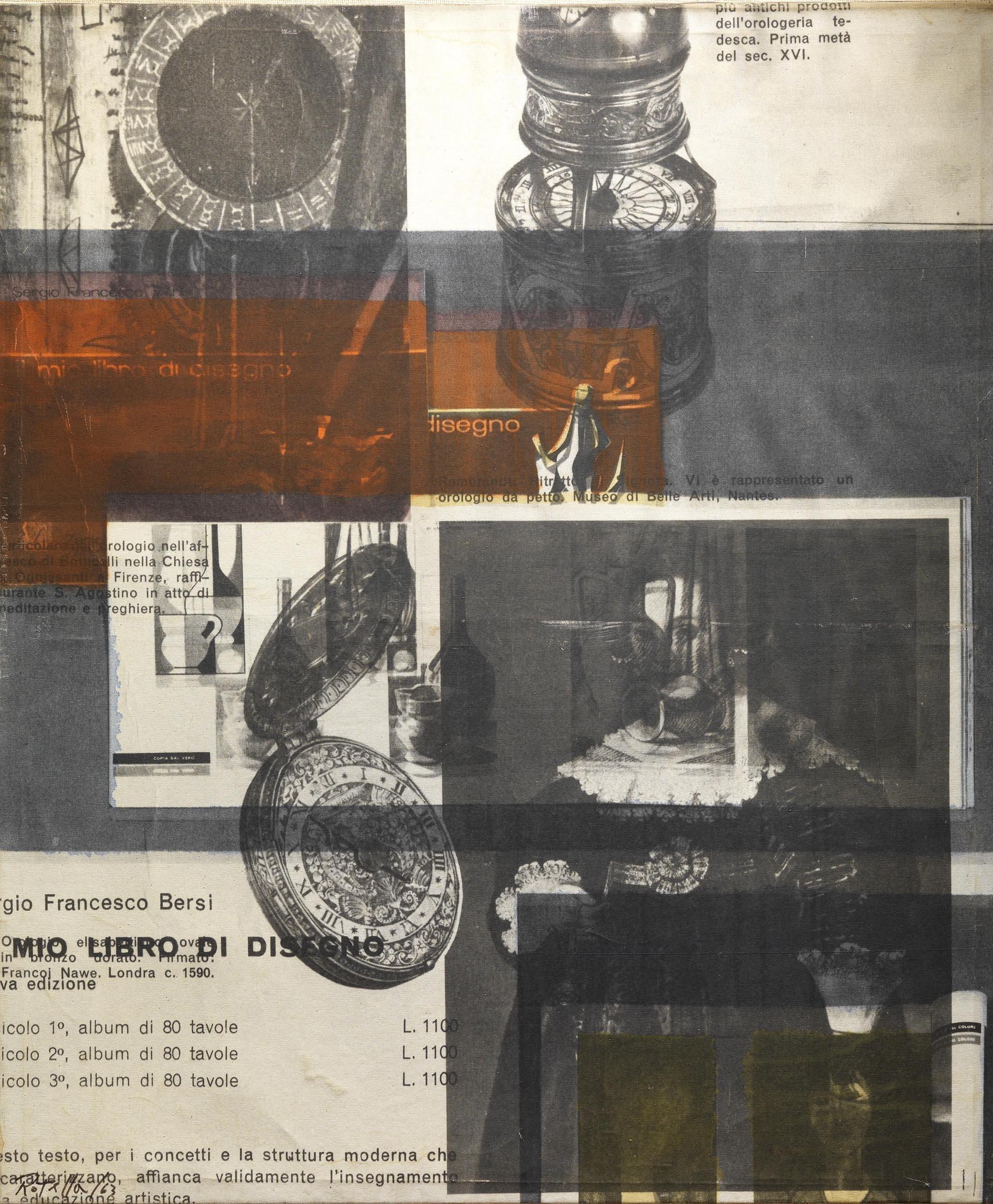 Rotella, Senza titolo, 1963, 110x93 cm