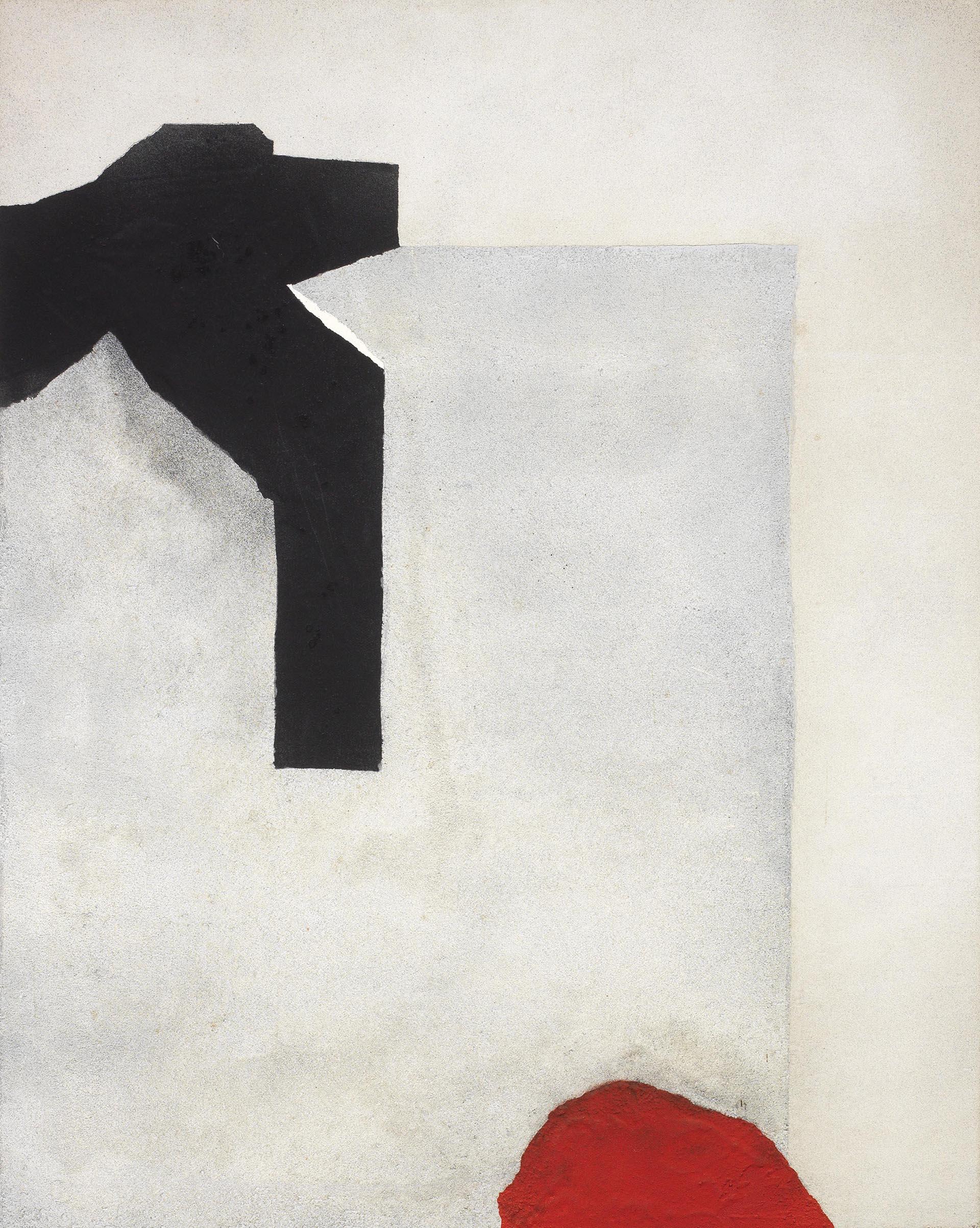 Santomaso, Senza titolo, 1983, 93x73 cm