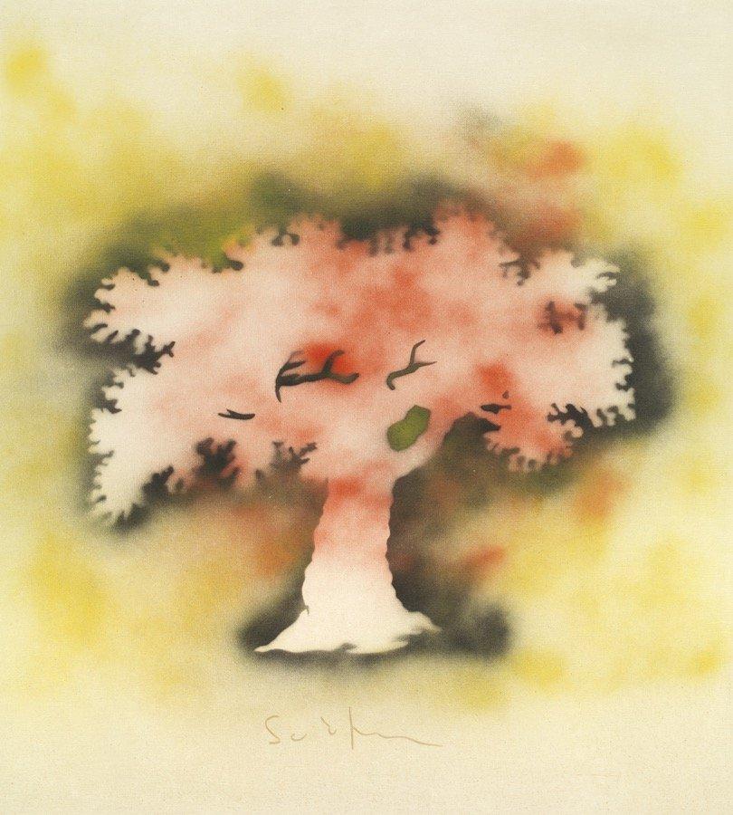 Schifano, Senza titolo, 1979-80, 100x90 cm