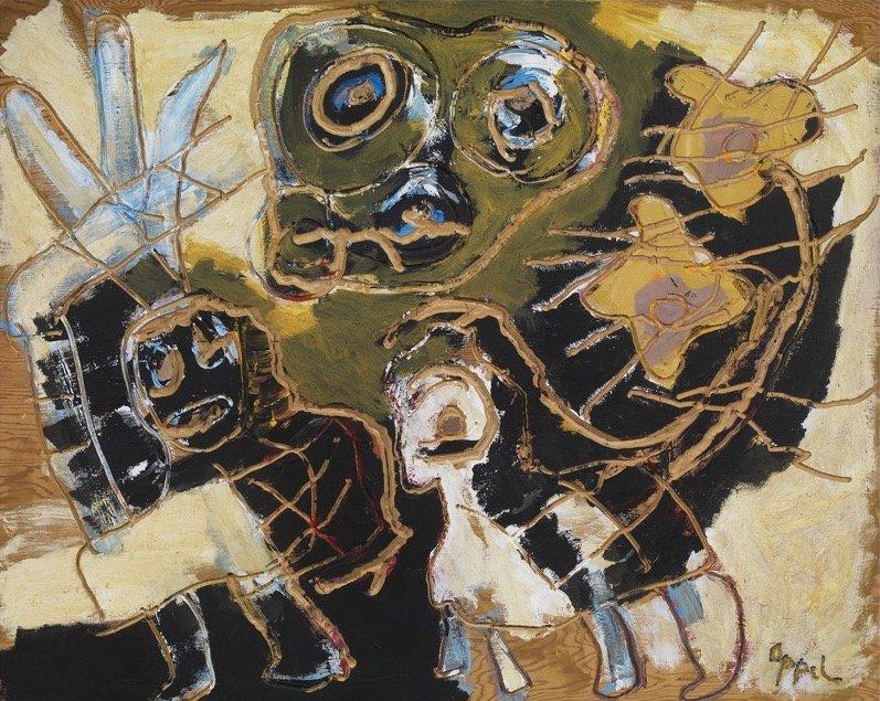 Appel, Merry Nomads no.1, 1991, 121,9x152,4 cm