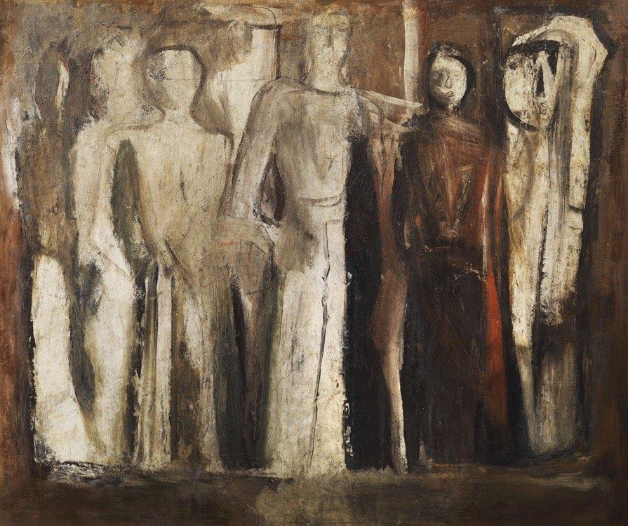 Sironi, Figure, 1937 ca., 148x176 cm