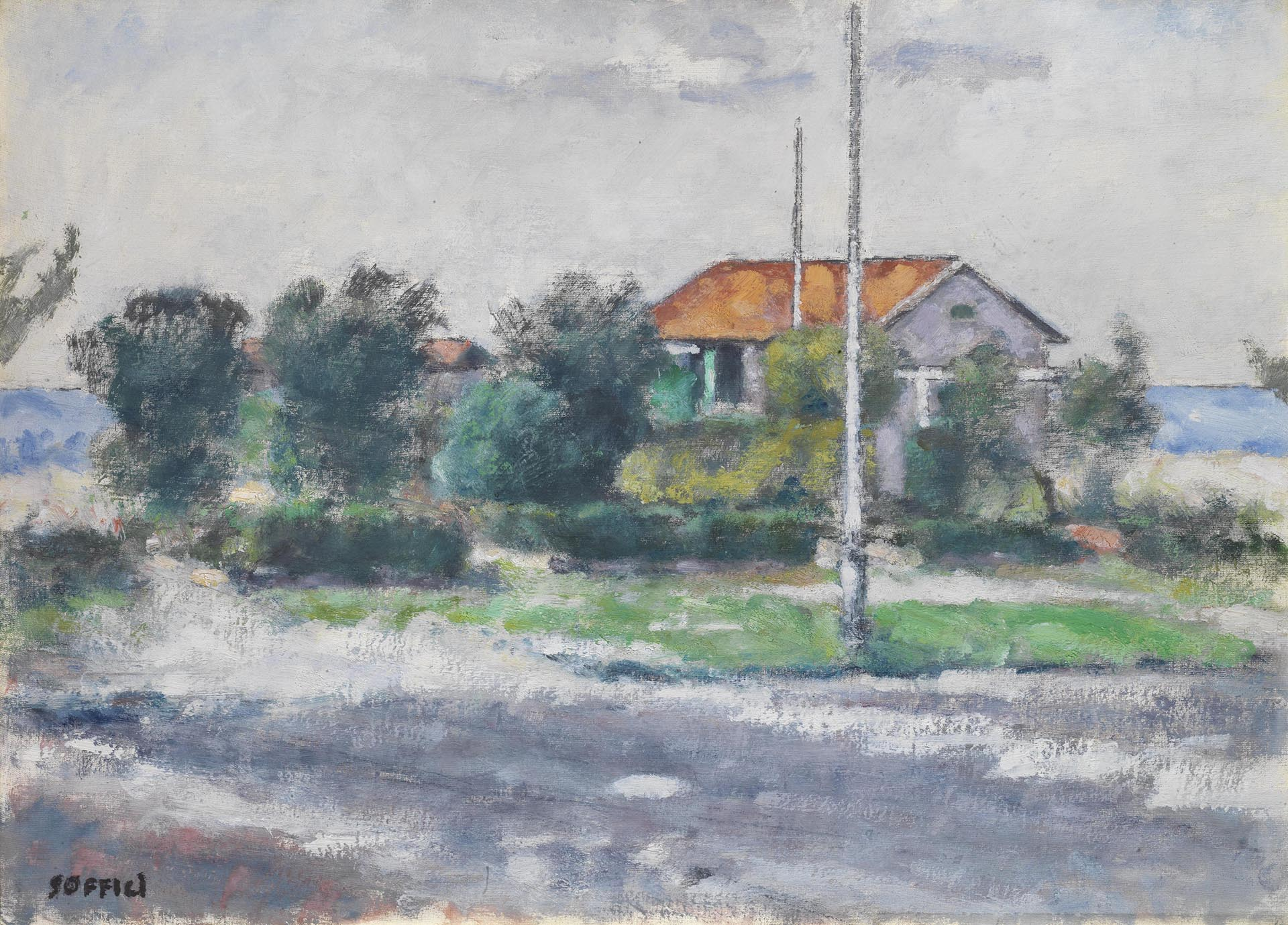 Soffici_Forte-dei-Marmi_1960_50x70-cm