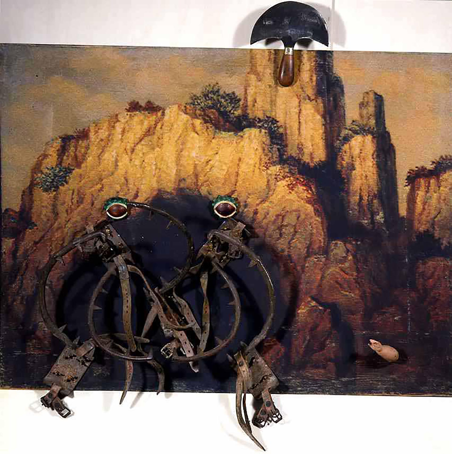 Spoerri, The toads, 1990, 104x122x22 cm