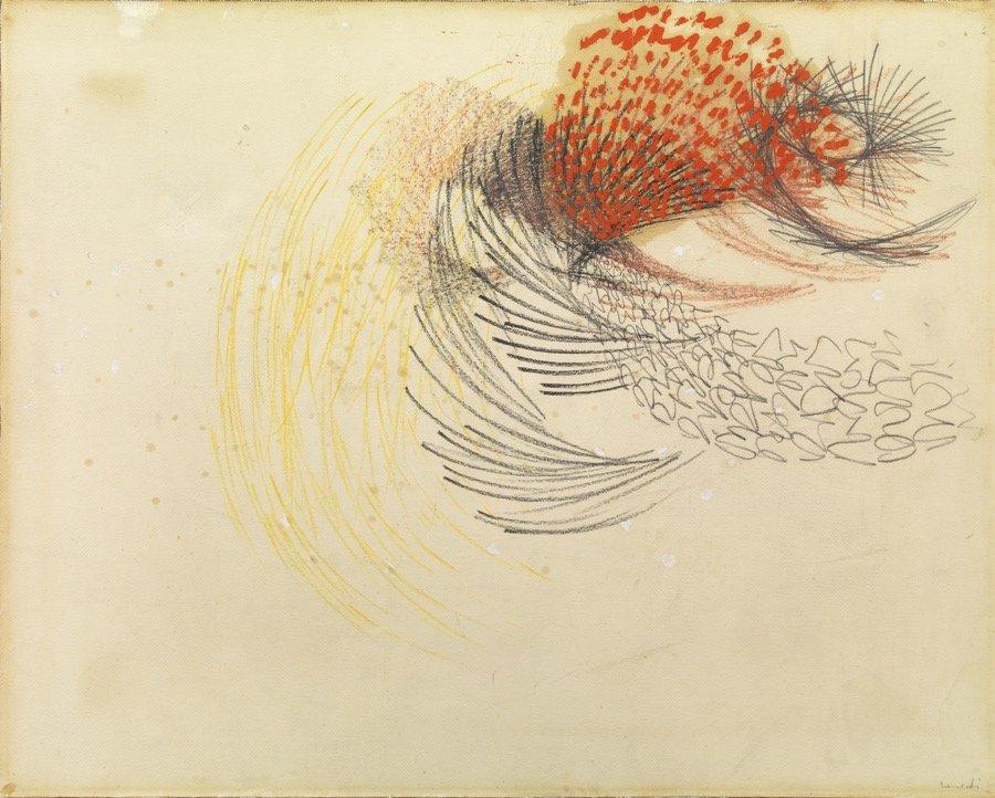 Tancredi, Senza titolo, 1951 (1953), 73x90 cm