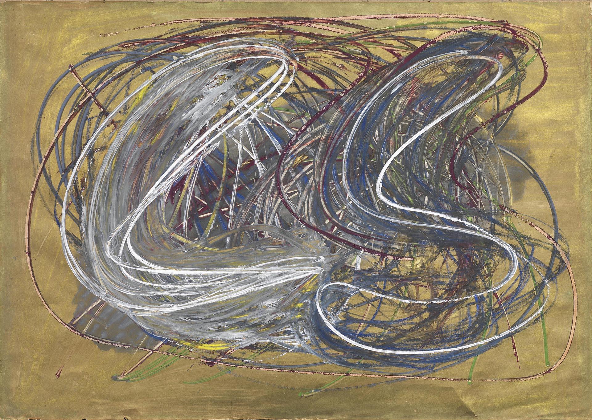 Tancredi, Senza titolo, 1950-51, 50x70 cm