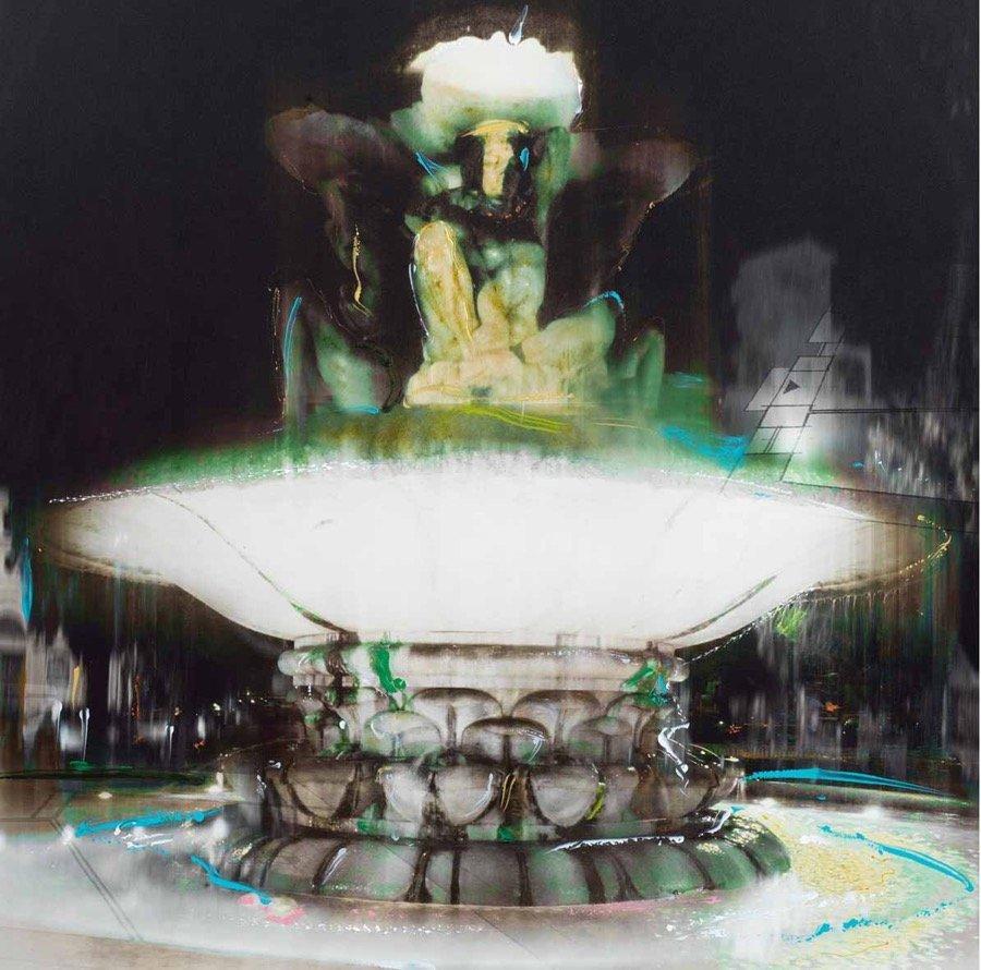 Maiorano, La fonte, 2010, 80x80 cm