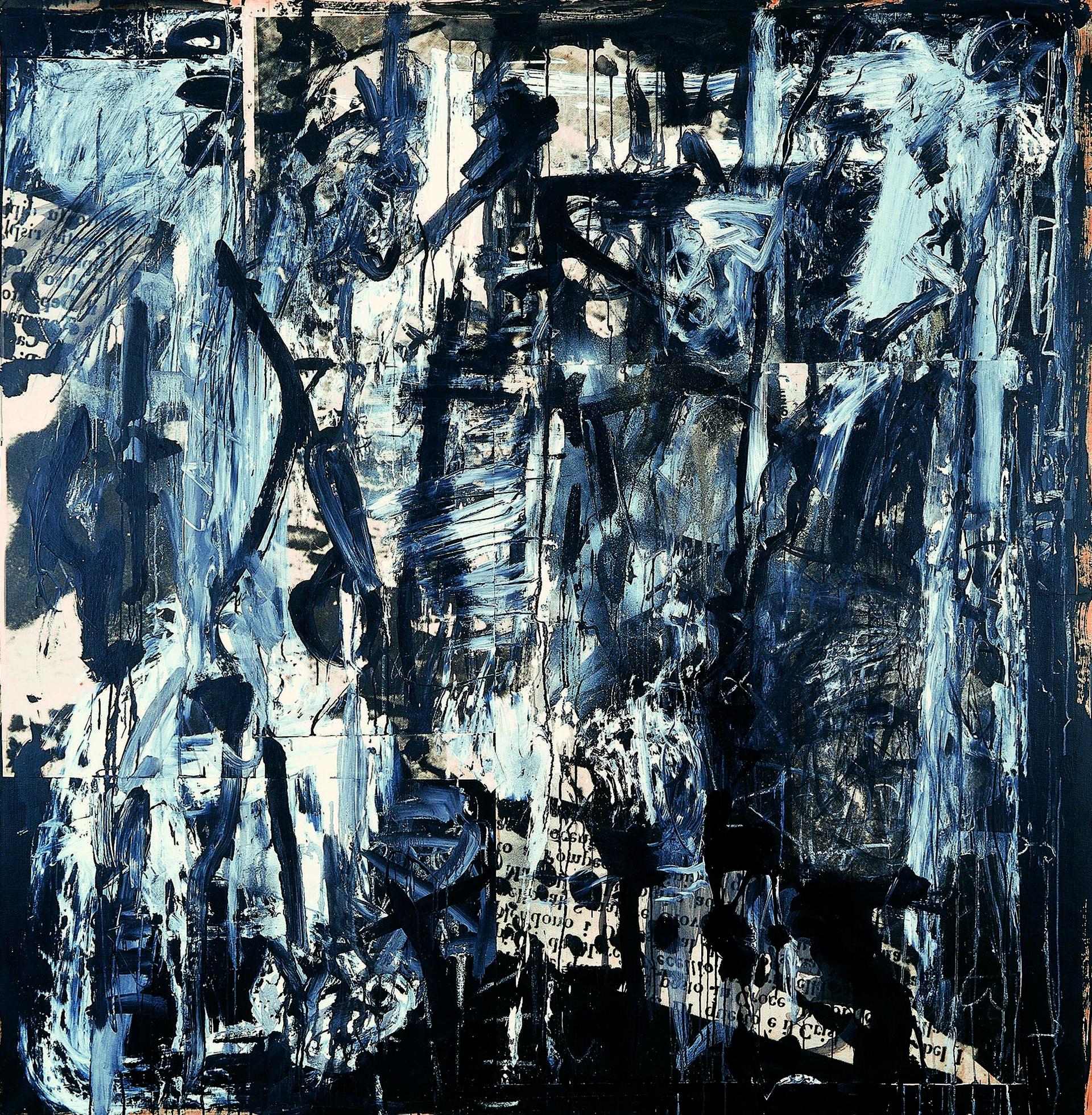 Vedova, Latente-81, 1981, 210x207 cm