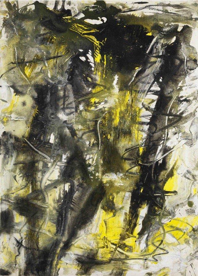 Vedova, Senza titolo, 1973, 70x50 cm