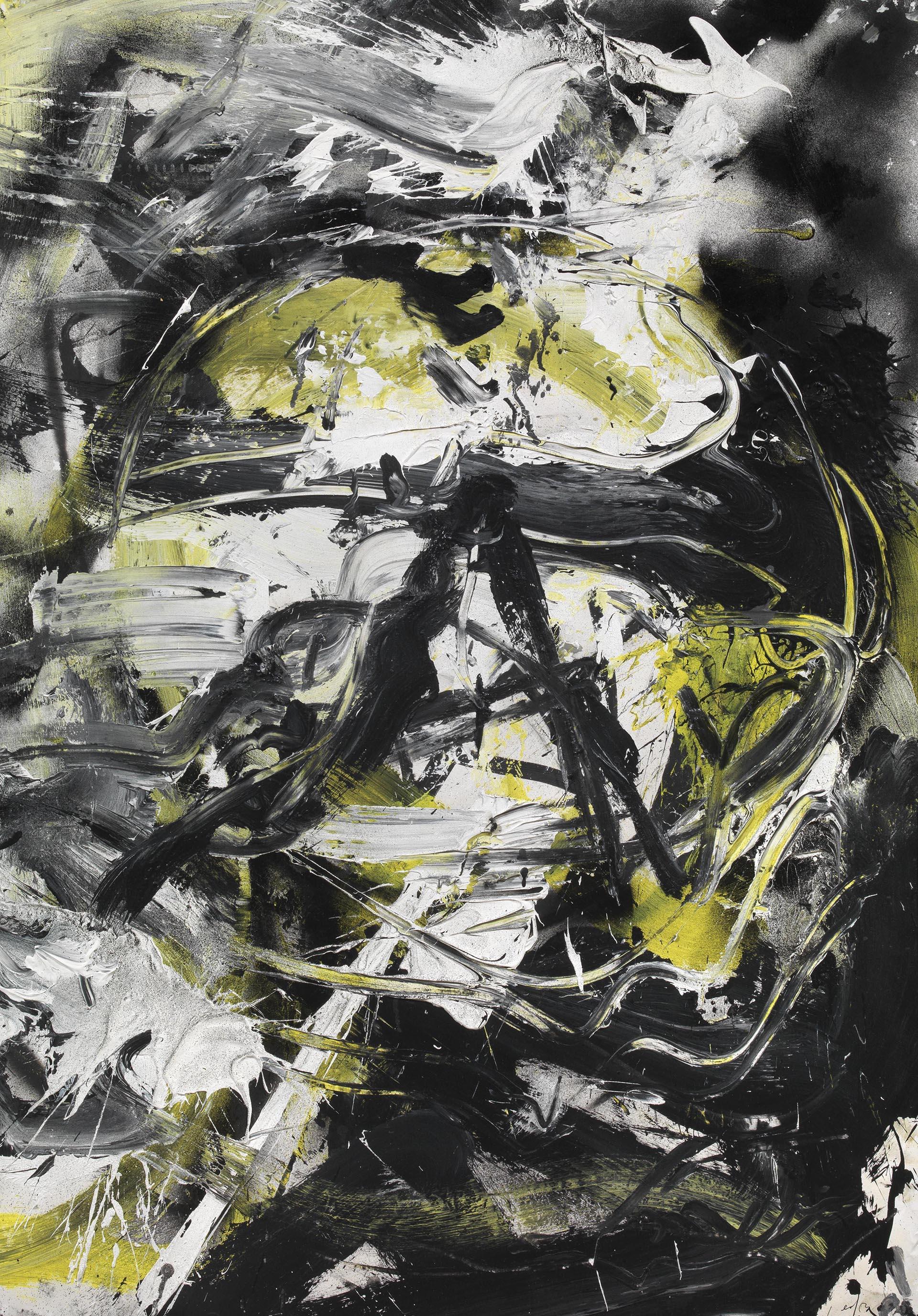 Vedova, Oltre, 1986, 100x69 cm