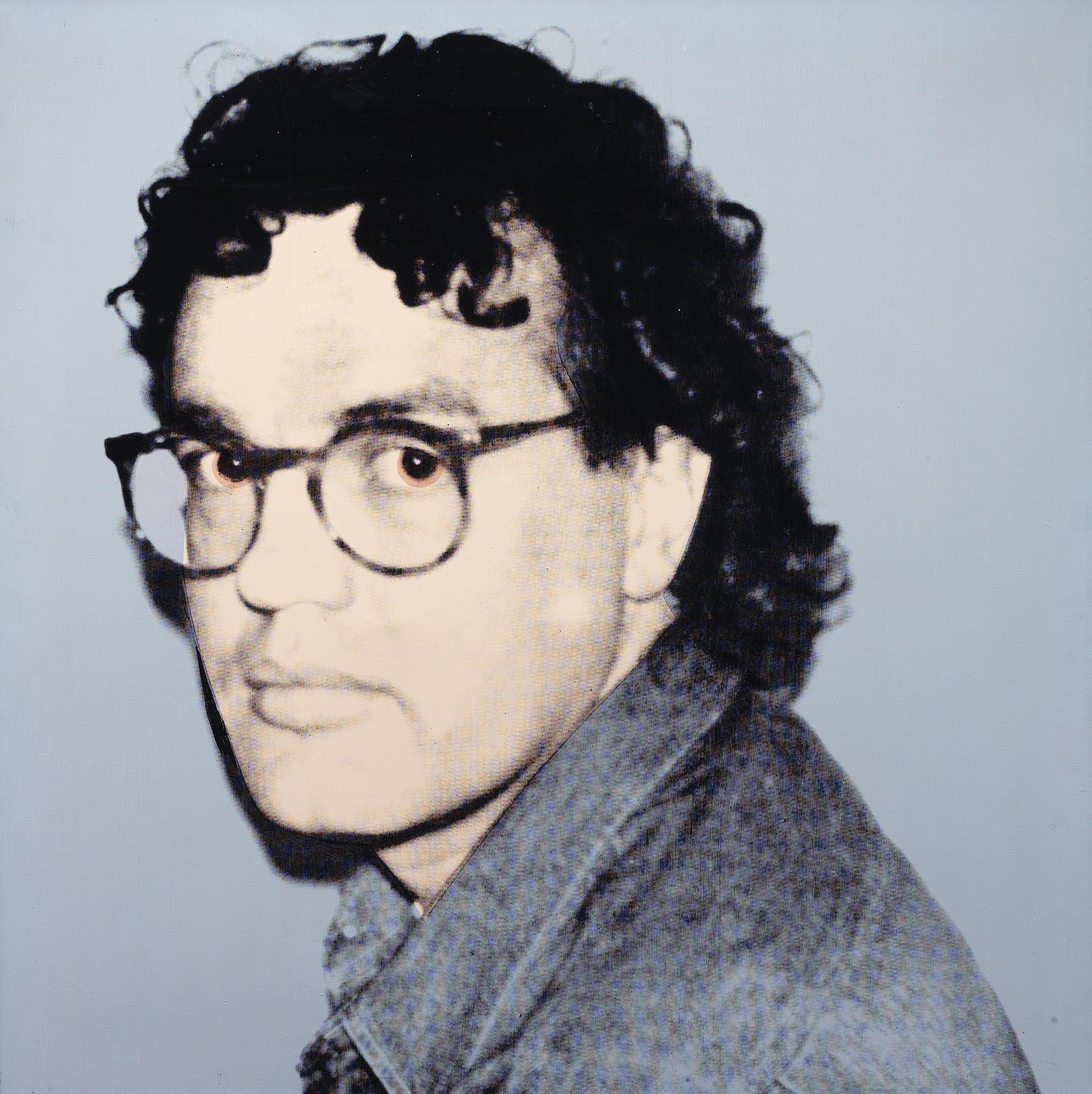 Warhol, Portrait of Reimer Claussen, 1986, 102x102 cm