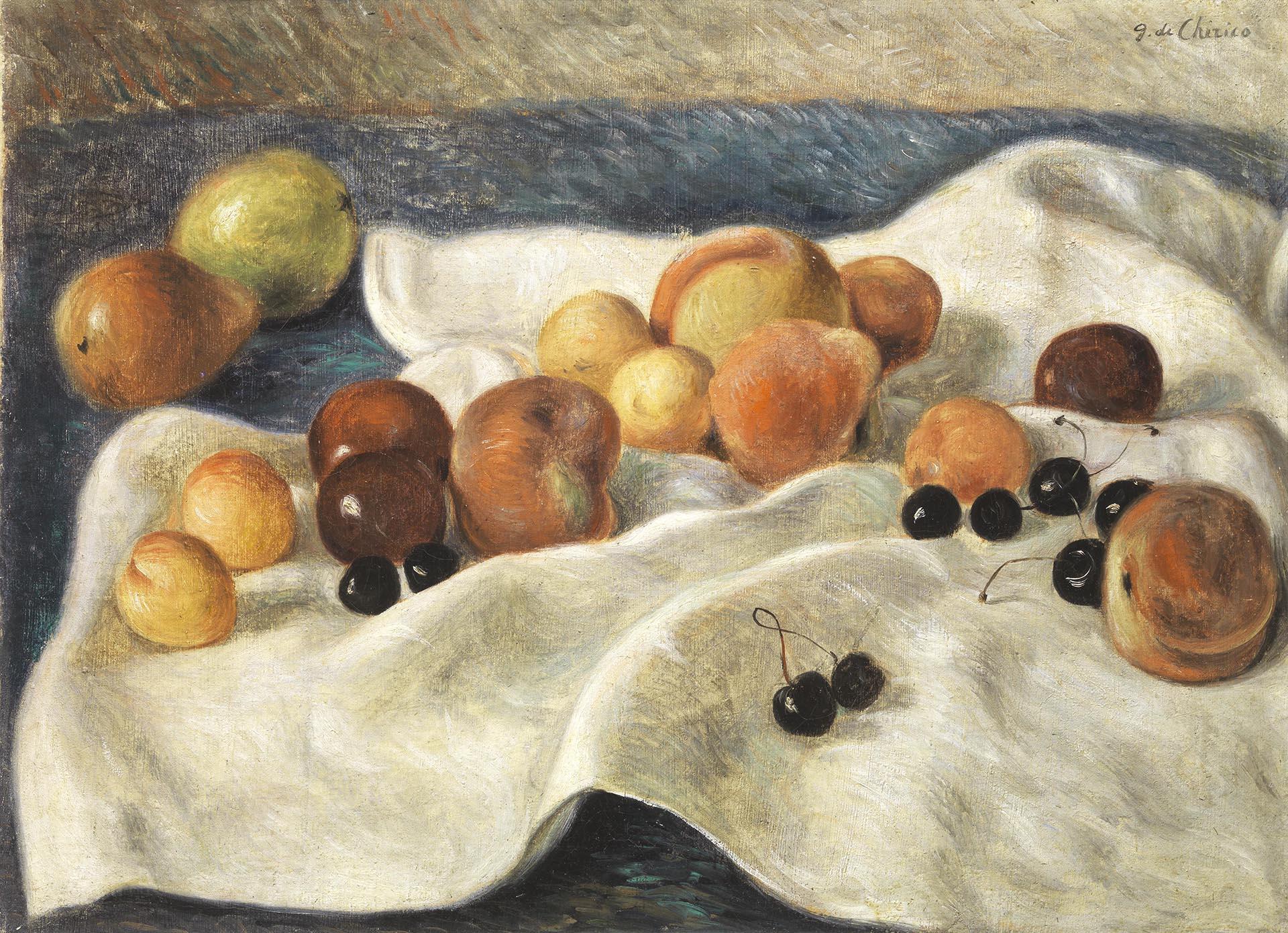 de Chirico, Natura morta, 1930, 53.5x74 cm
