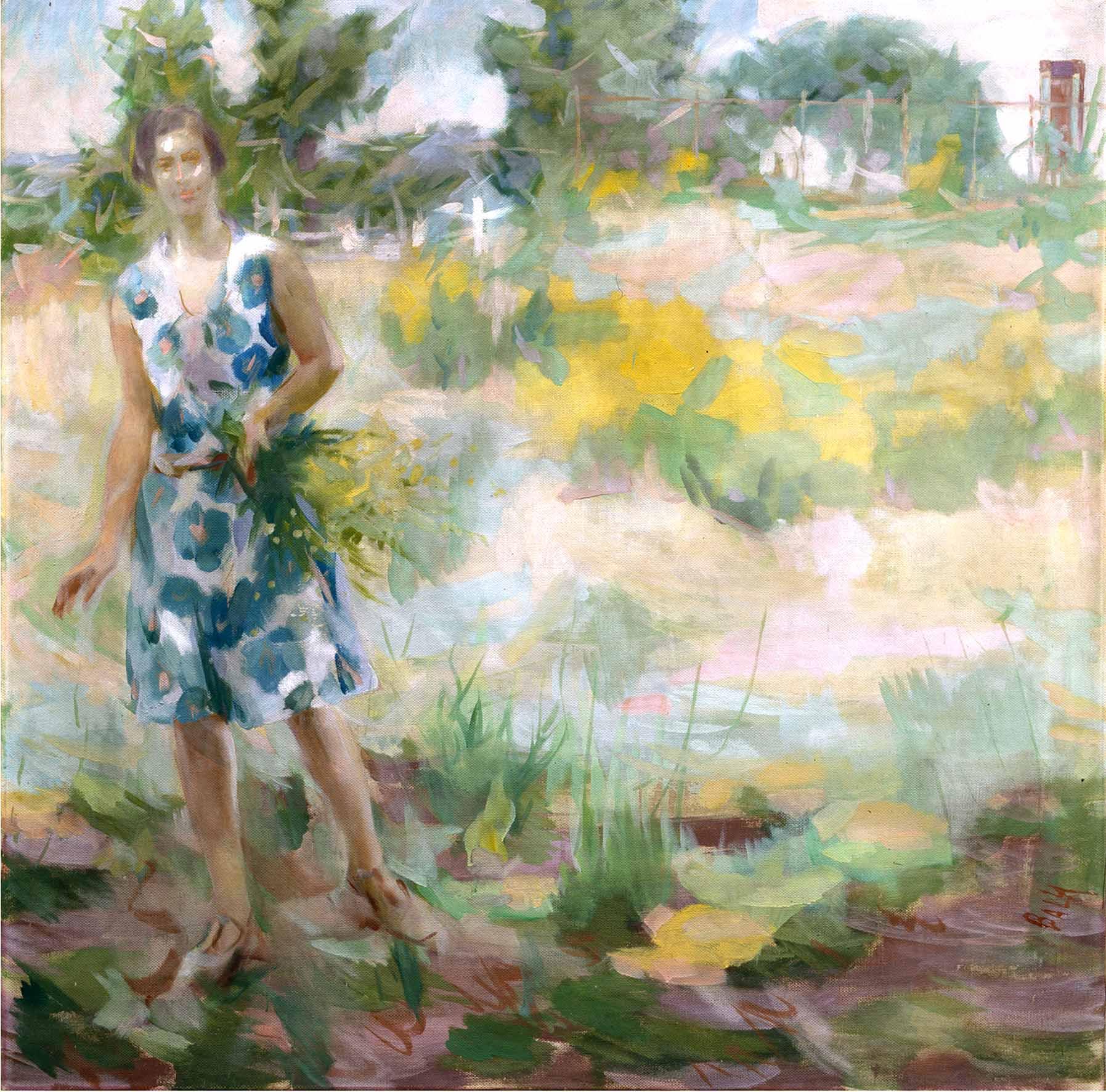 Giacomo Balla, Luce nella luce, 1928, olio su tela, 130x130 cm